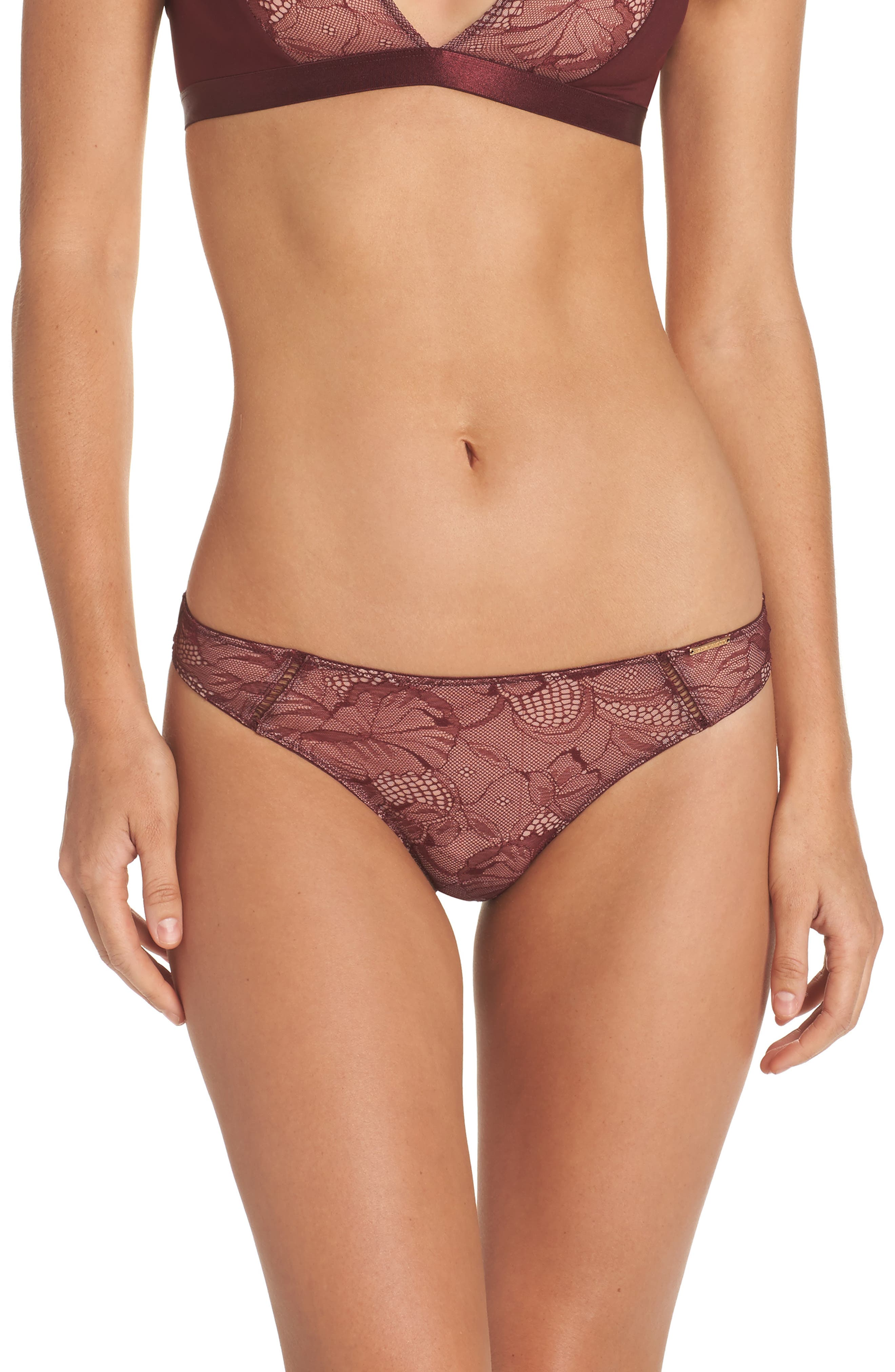 Lydia Thong,                         Main,                         color, Berry