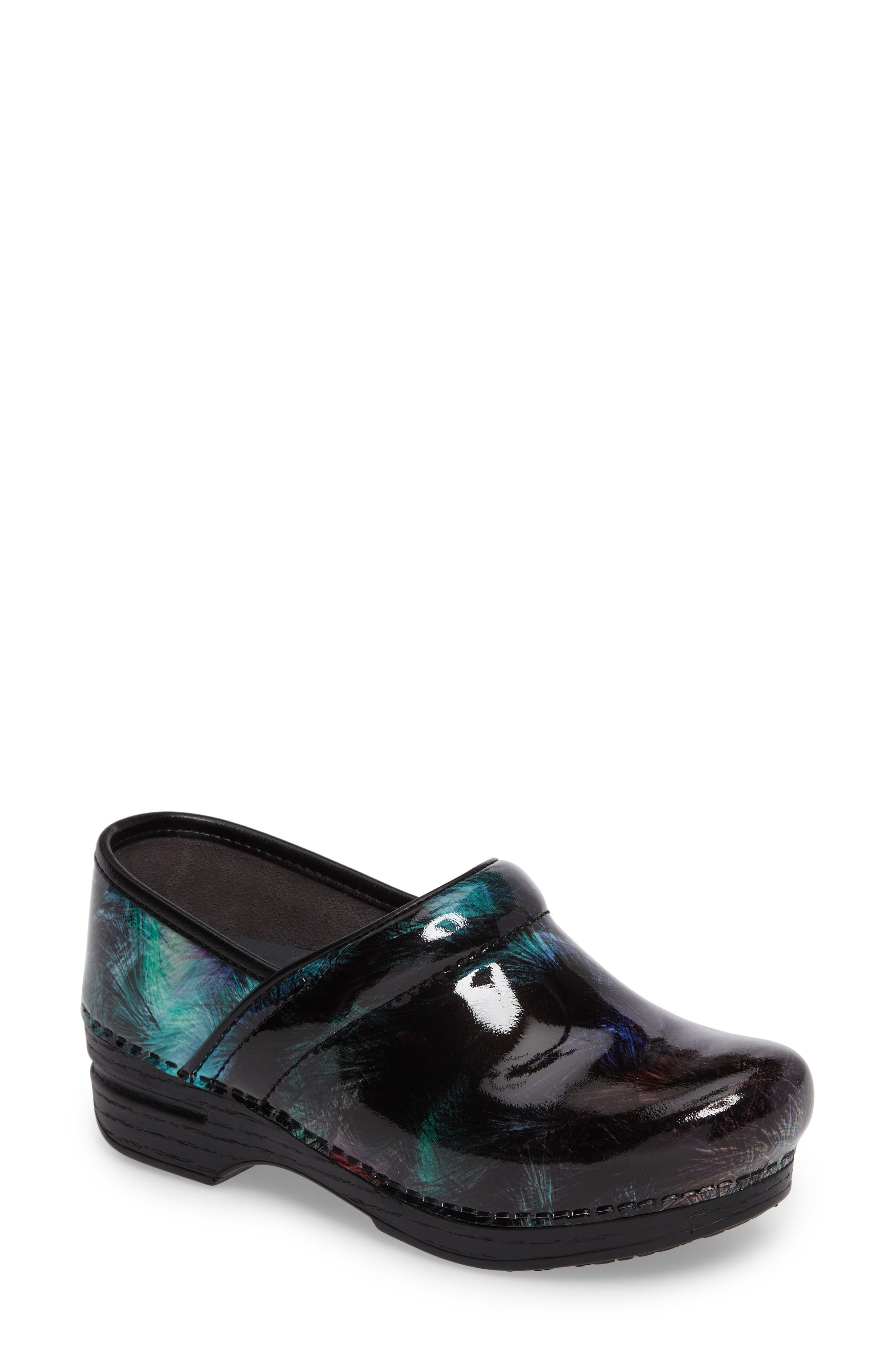 'Pro XP' Patent Leather Clog,                         Main,                         color, Brush Patent Leather
