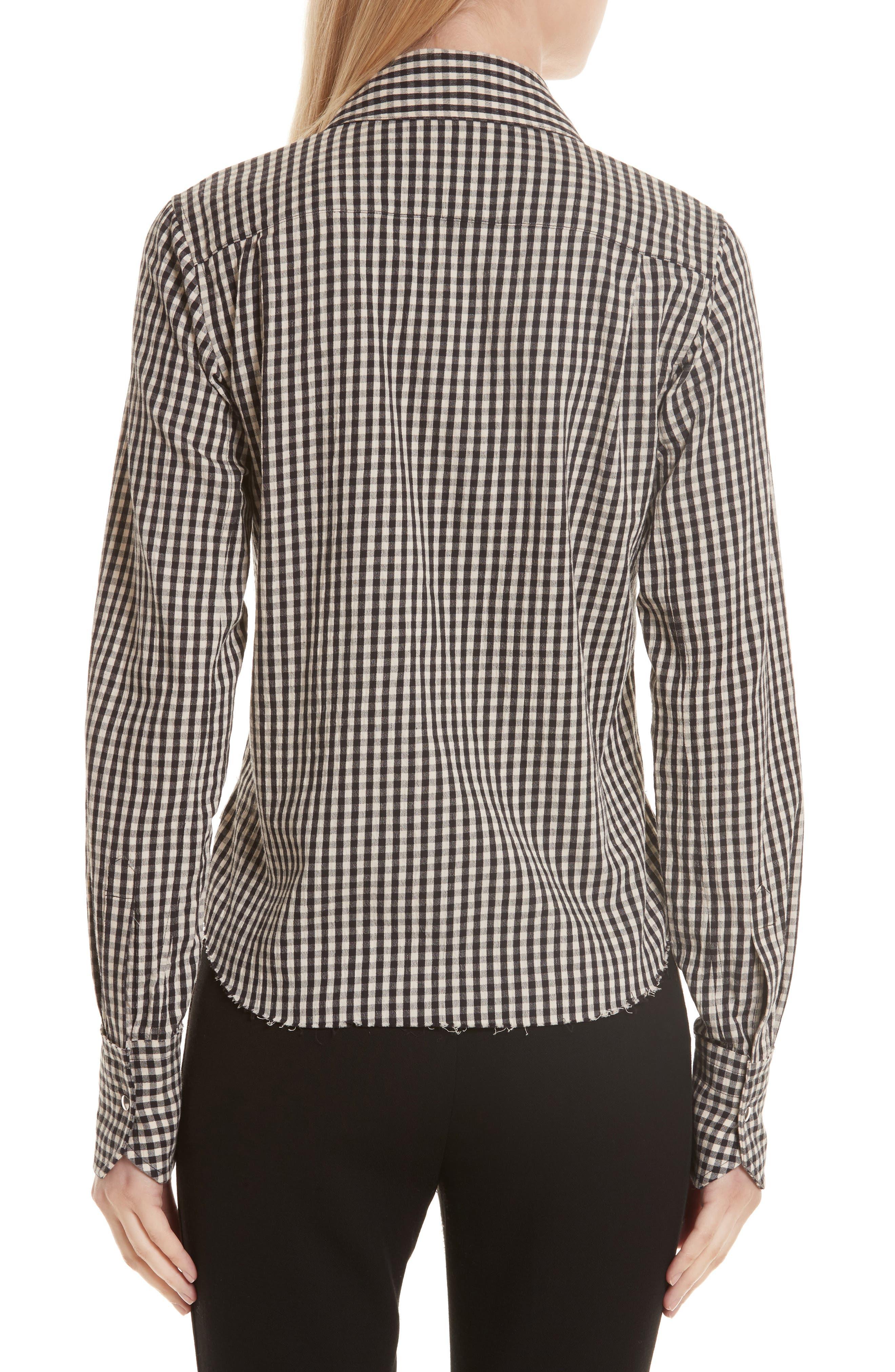 Alternate Image 2  - Helmut Lang Gingham Check Shirt