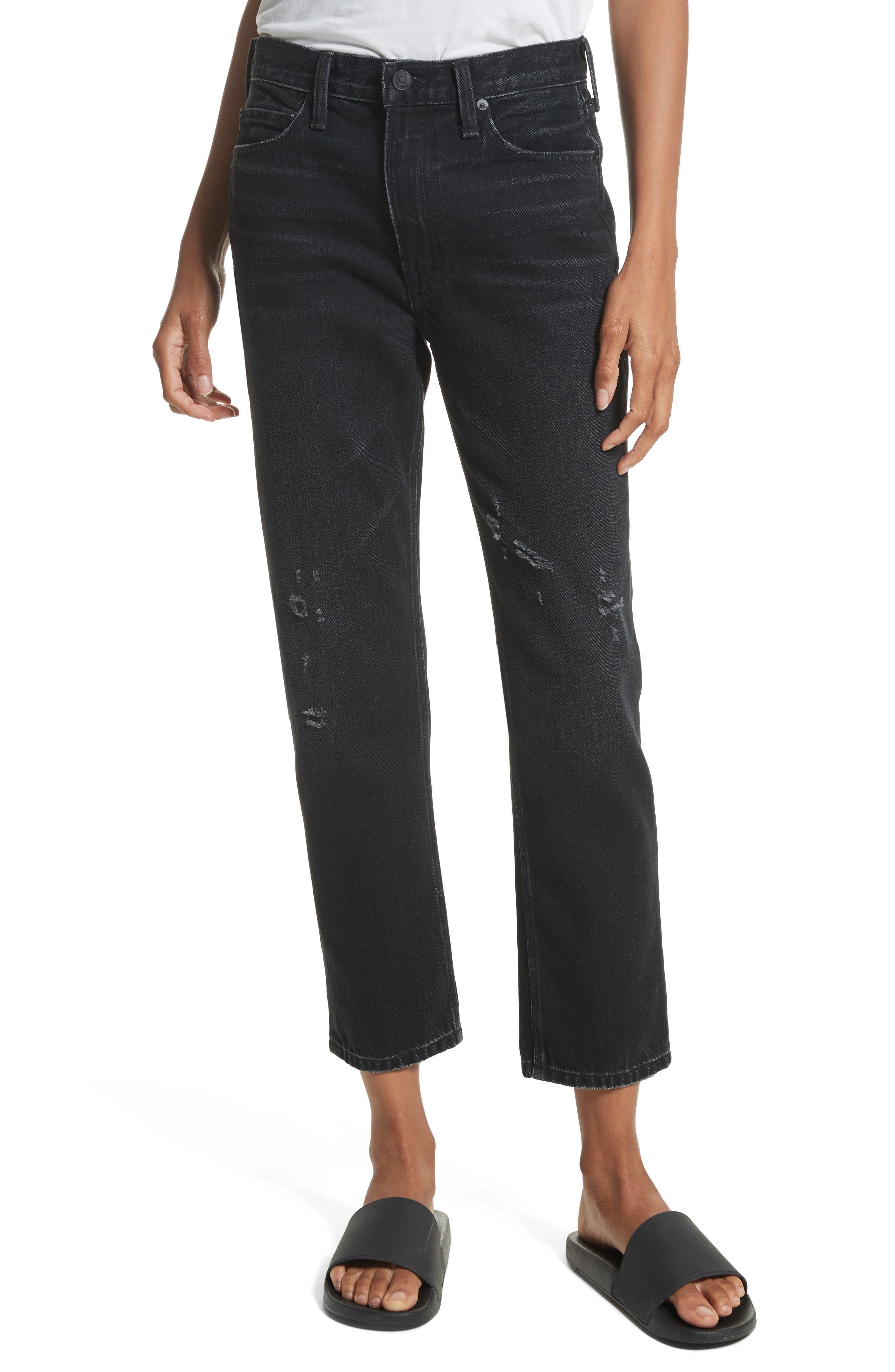 Vince High Waist Vintage Straight Jeans