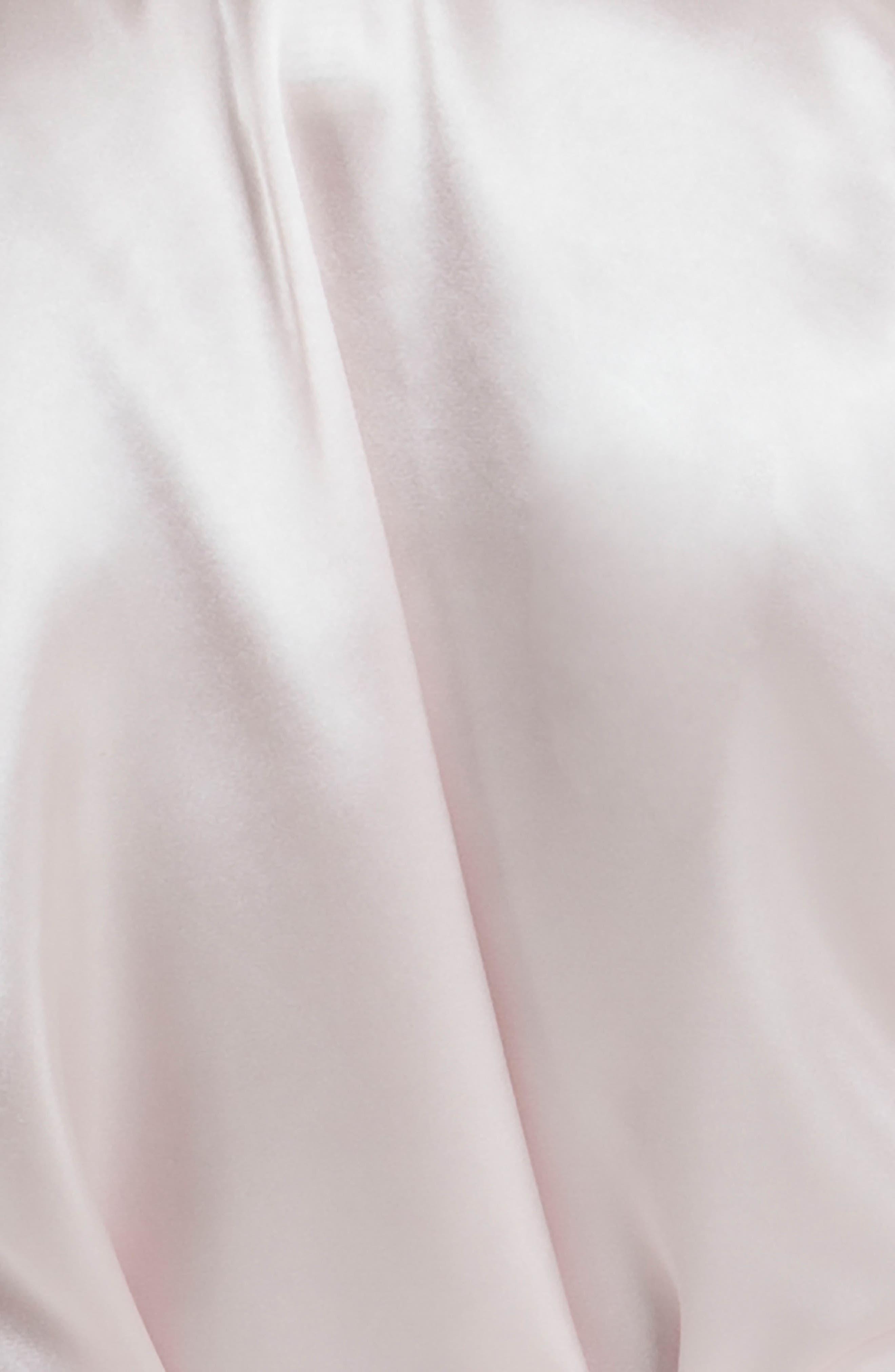Alternate Image 4  - In Bloom by Jonquil Satin Robe