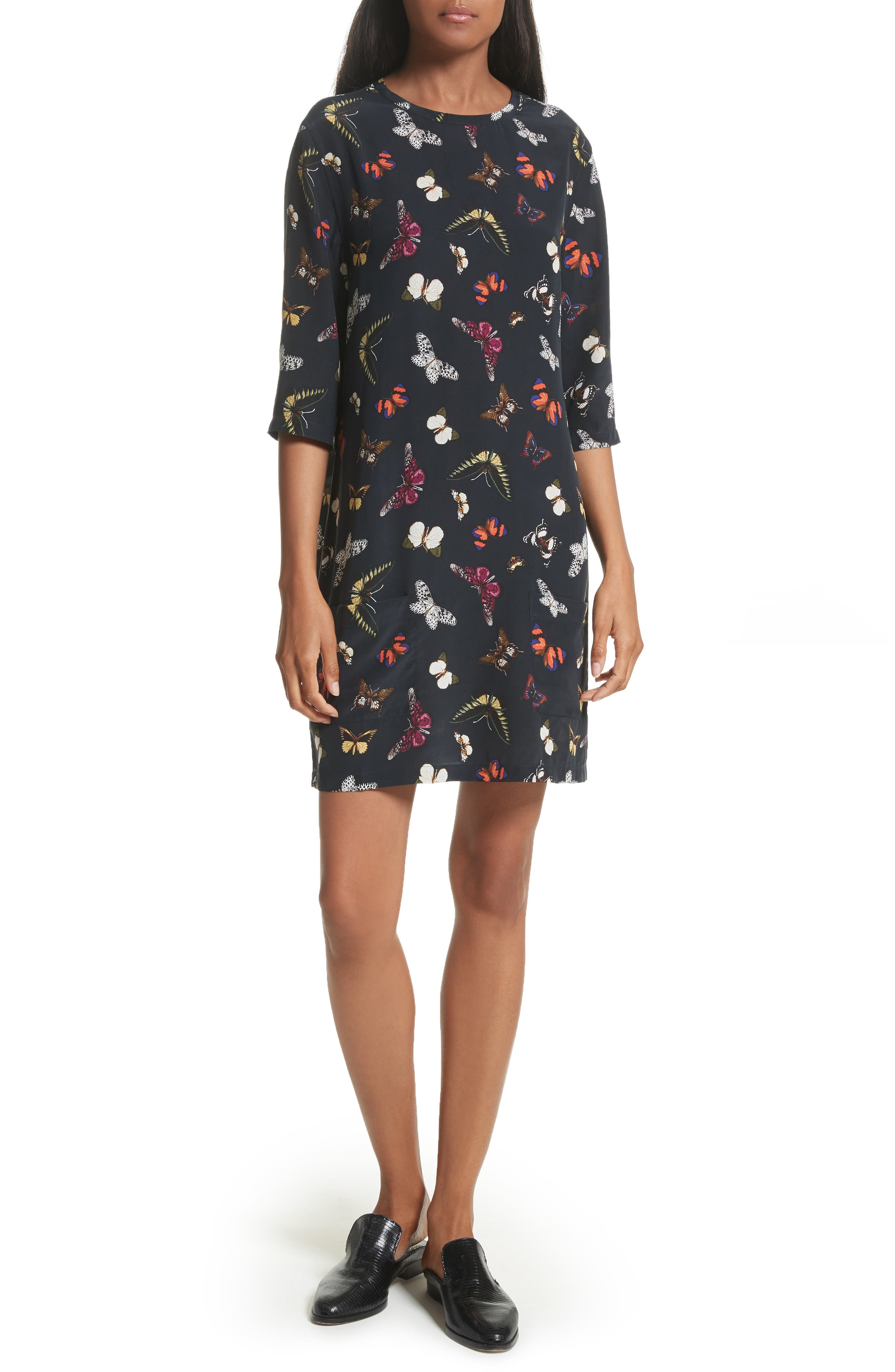 EQUIPMENT Aubrey Silk Shift Dress