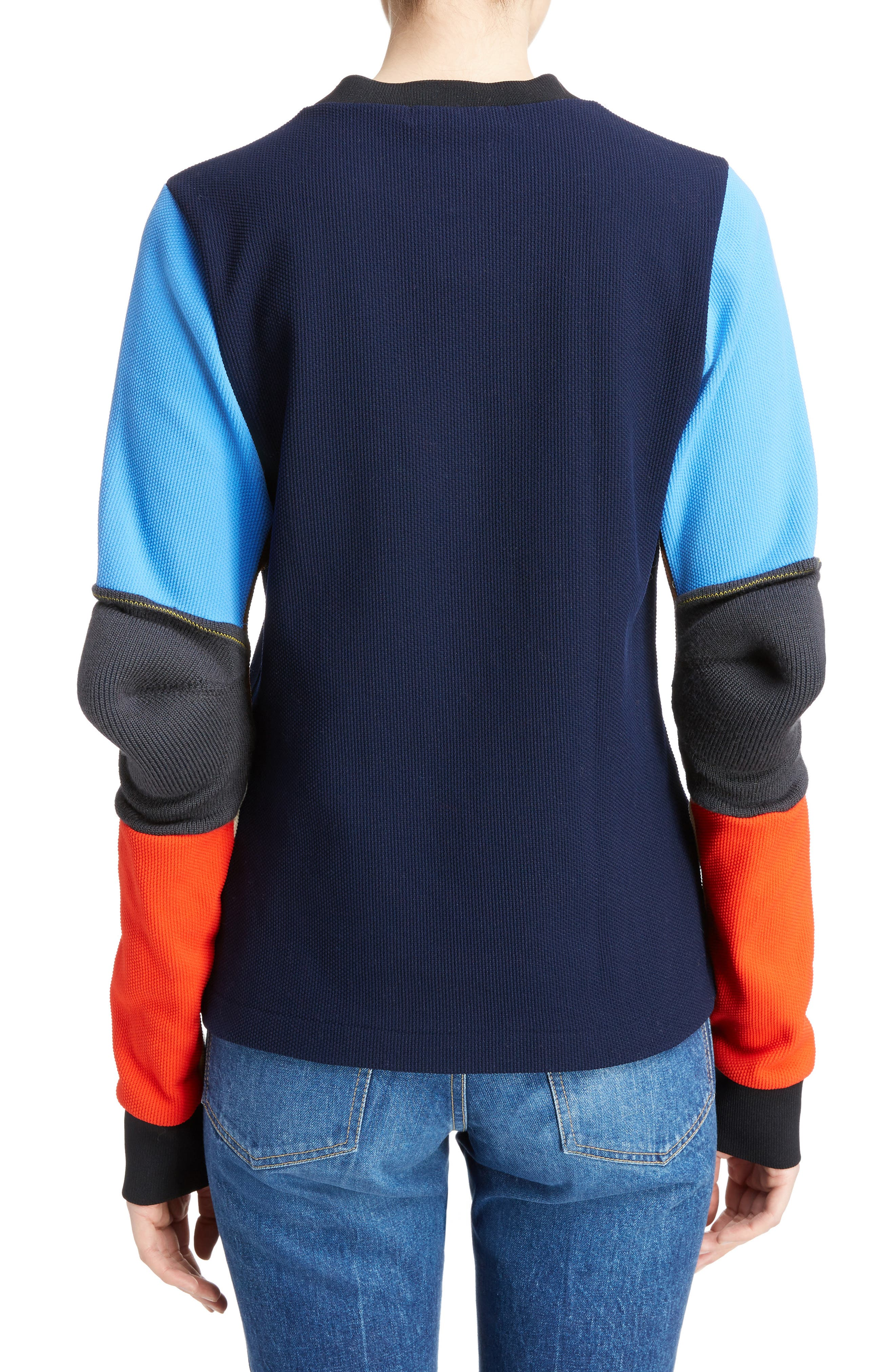 Alternate Image 2  - TOGA Colorblock Jacquard Knit Sweater