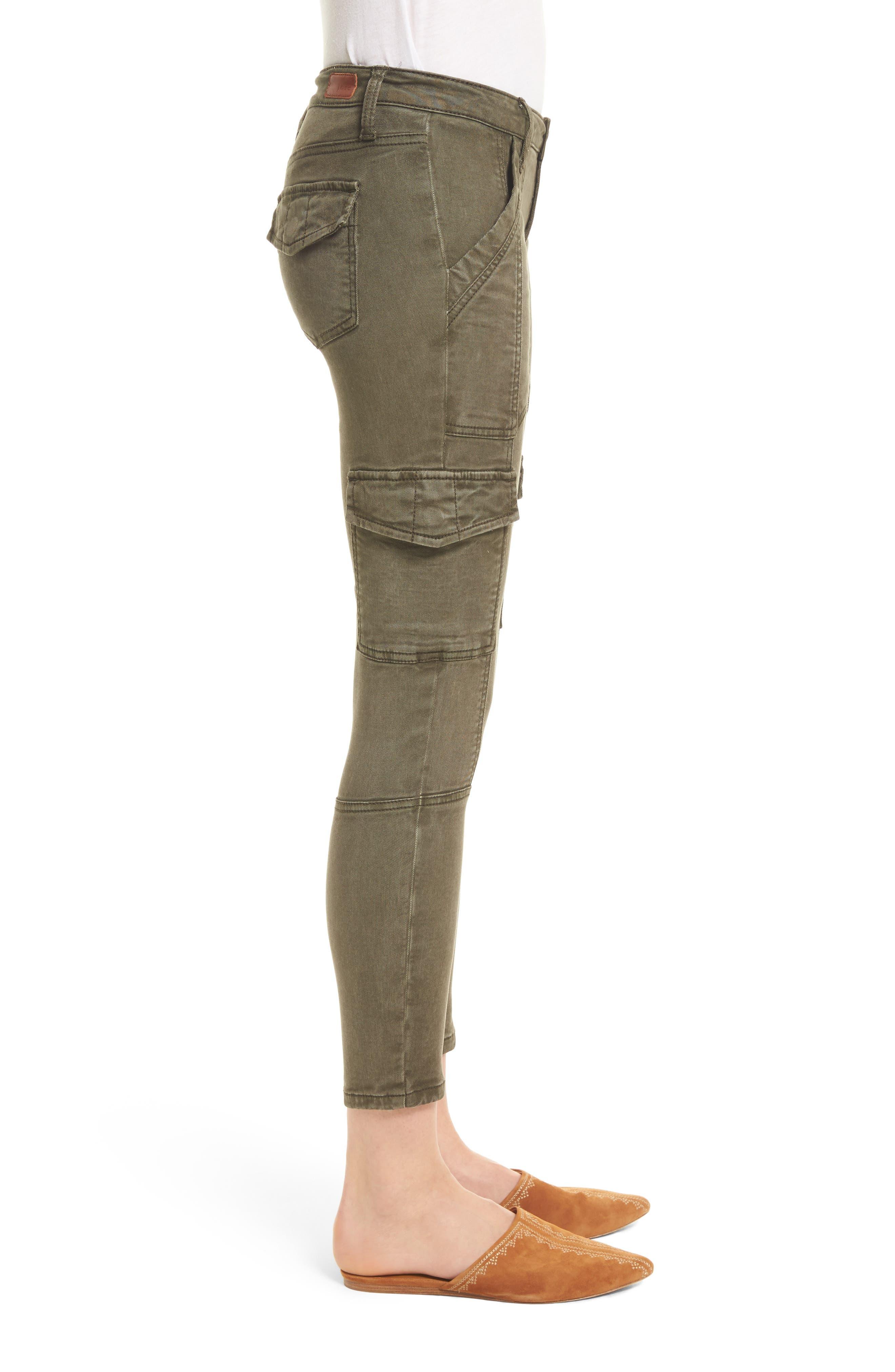 Alternate Image 3  - Joie Okana Skinny Cargo Pants