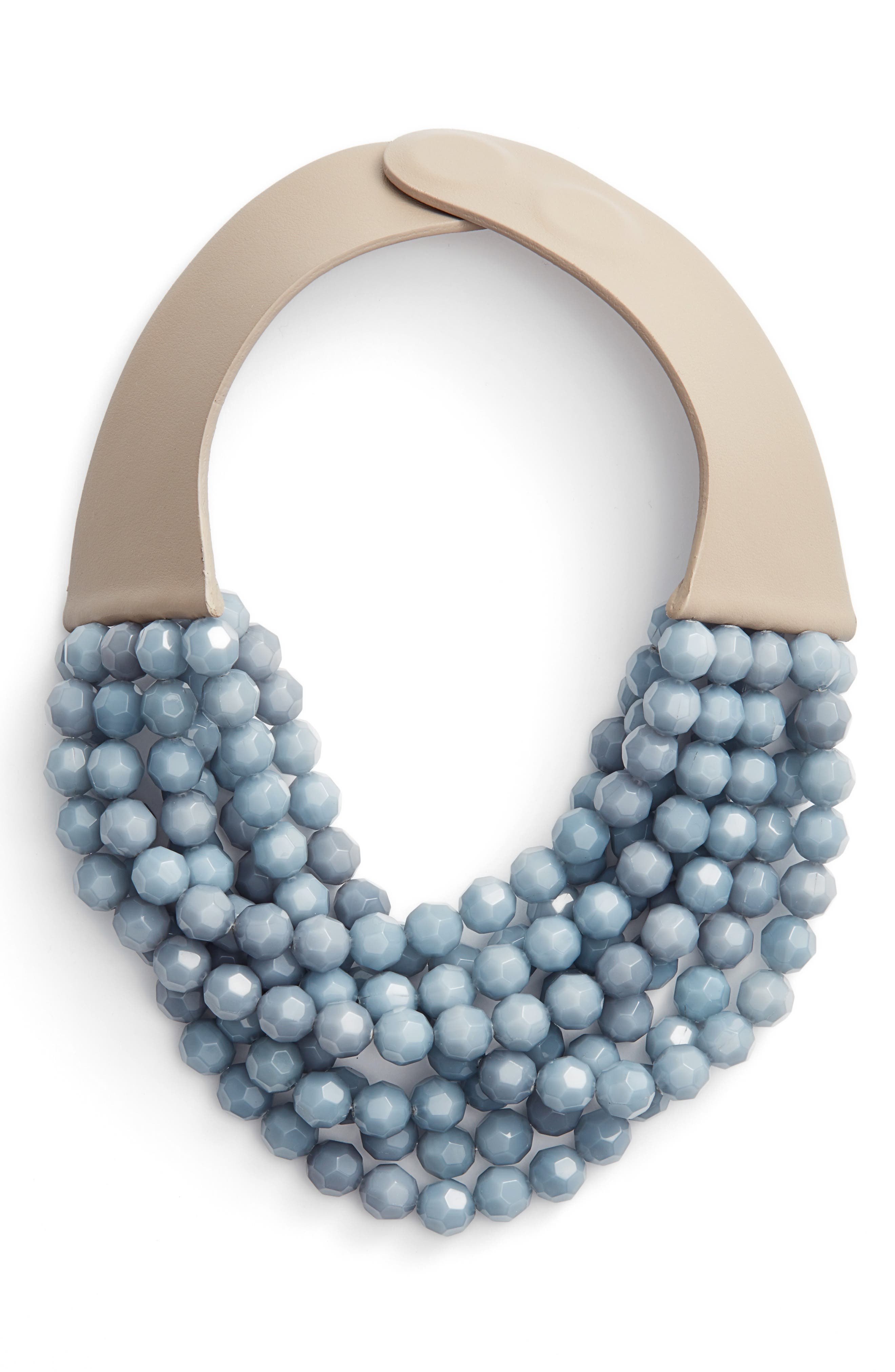 Fairchild Baldwin Bella Beaded Collar Necklace