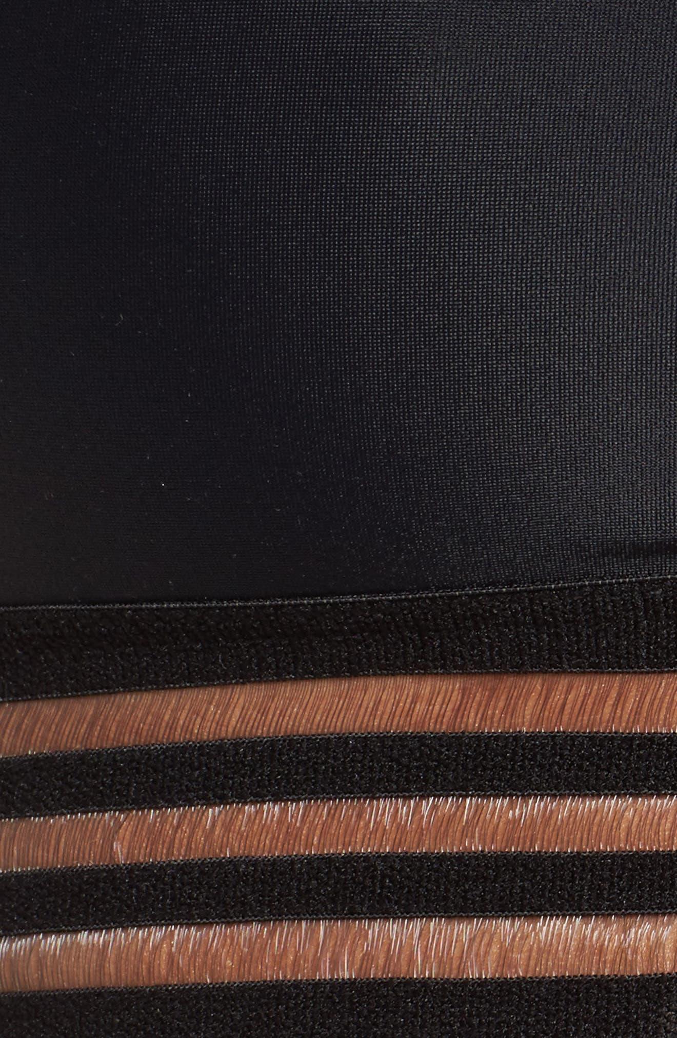 Ritz Sports Bra,                             Alternate thumbnail 9, color,                             Black