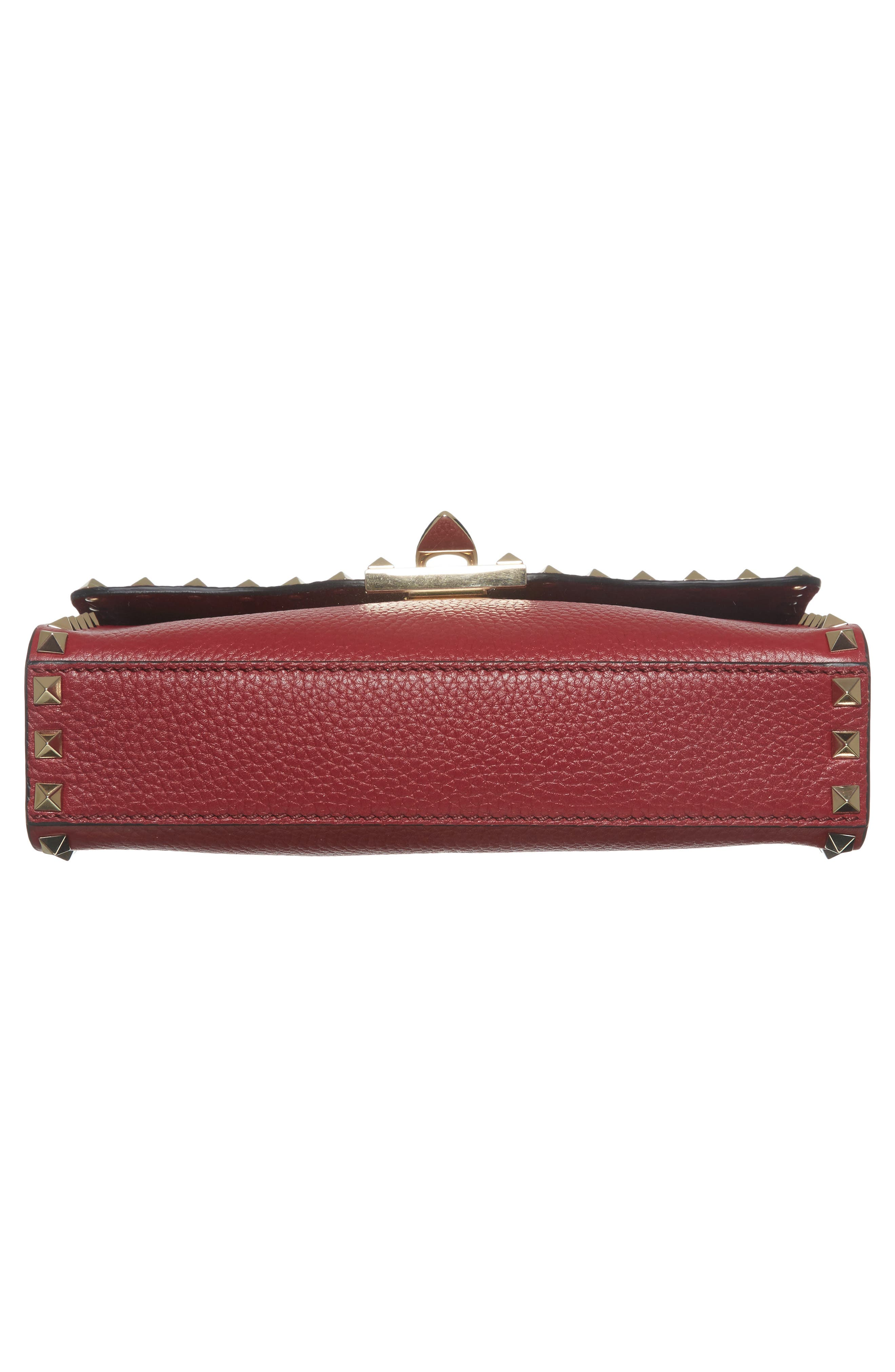 Alternate Image 6  - VALENTINO GARAVANI Medium Rockstud Leather Messenger Bag