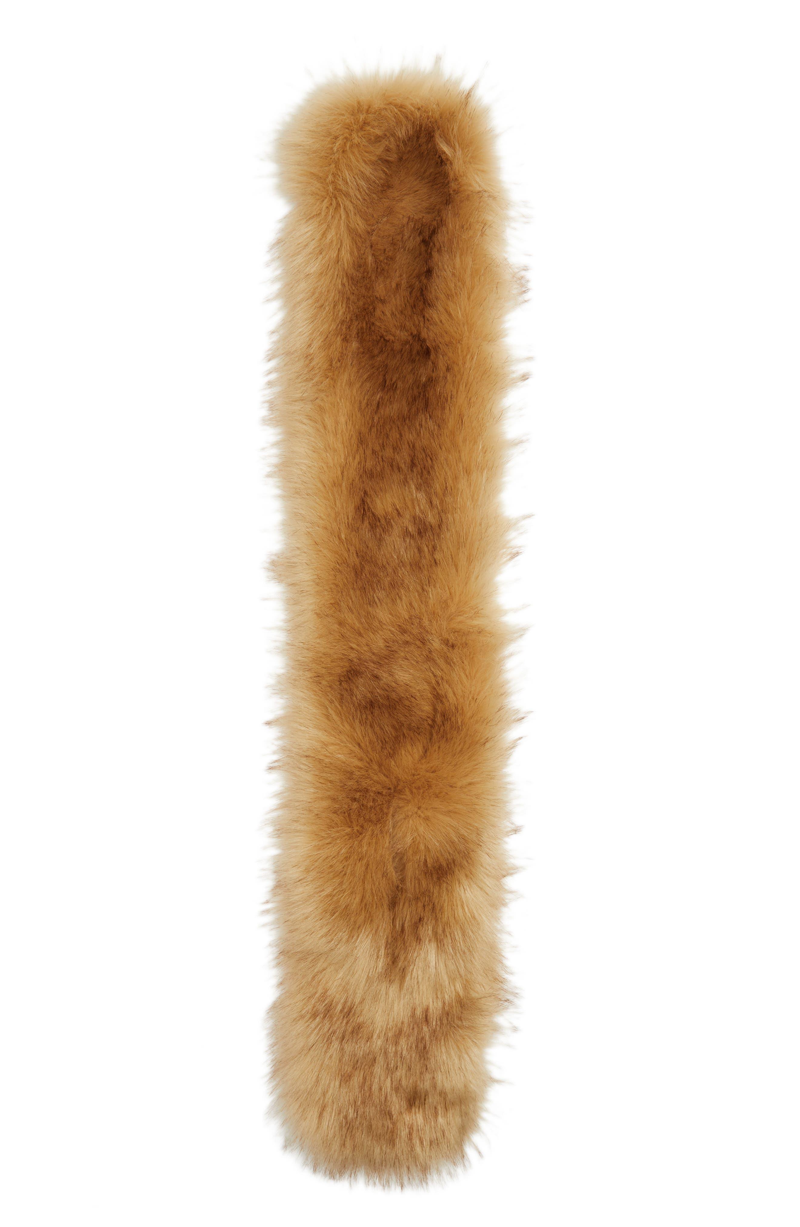 Alternate Image 3  - Halogen® Faux Fur Stole