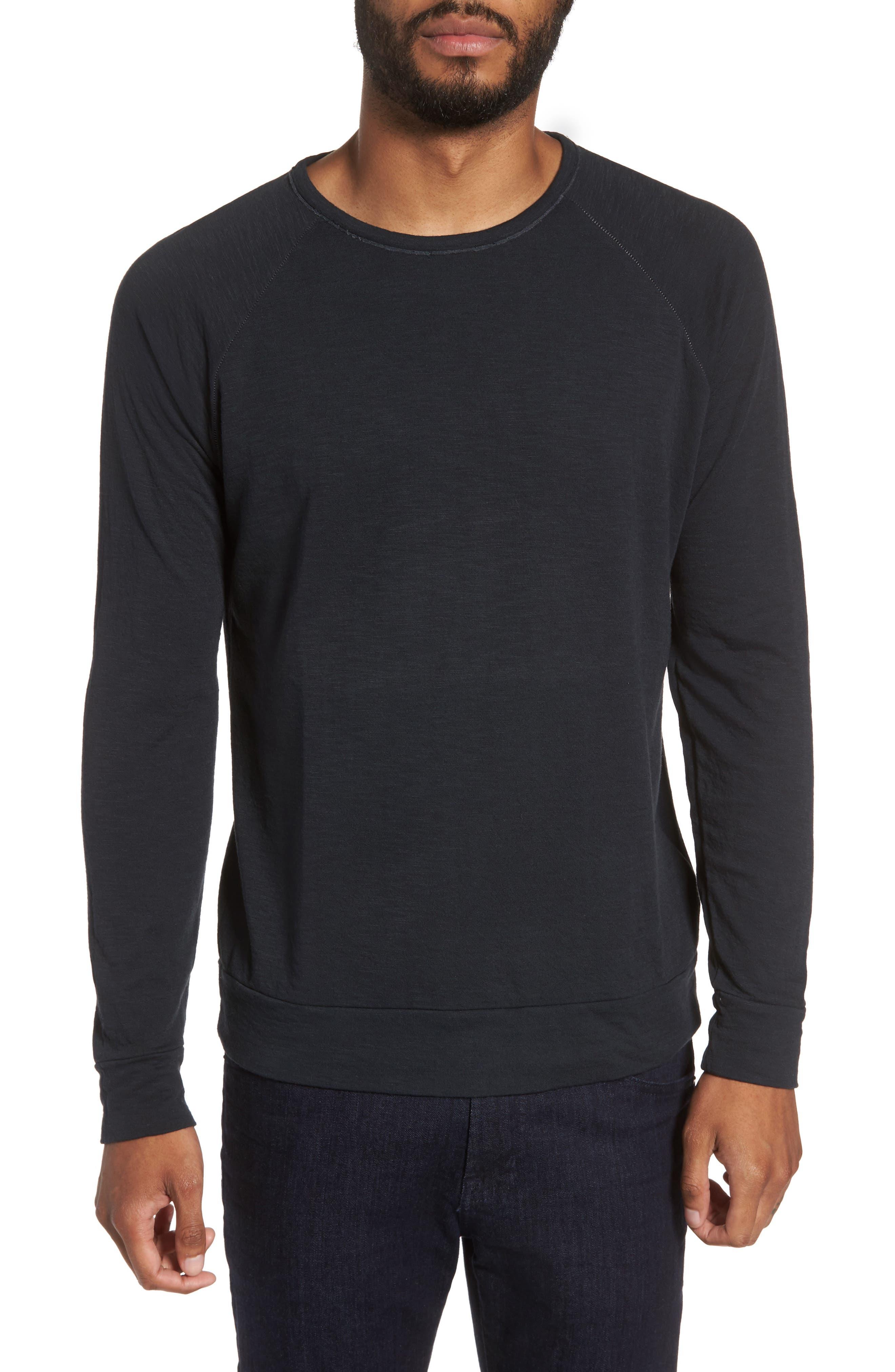 VELVET BY GRAHAM & SPENCER Long Sleeve Raglan T-Shirt