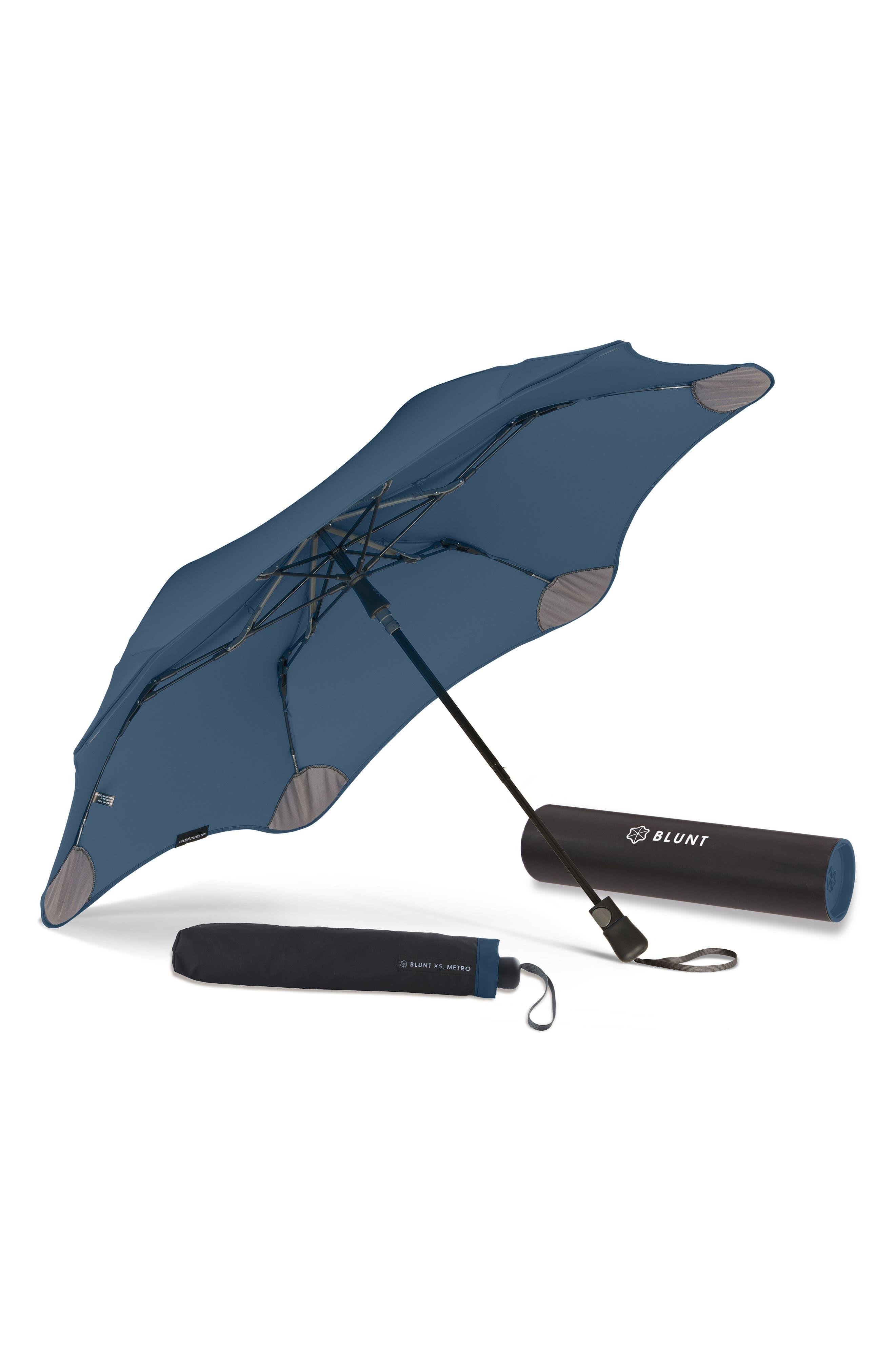 Metro Umbrella,                             Alternate thumbnail 2, color,                             Navy