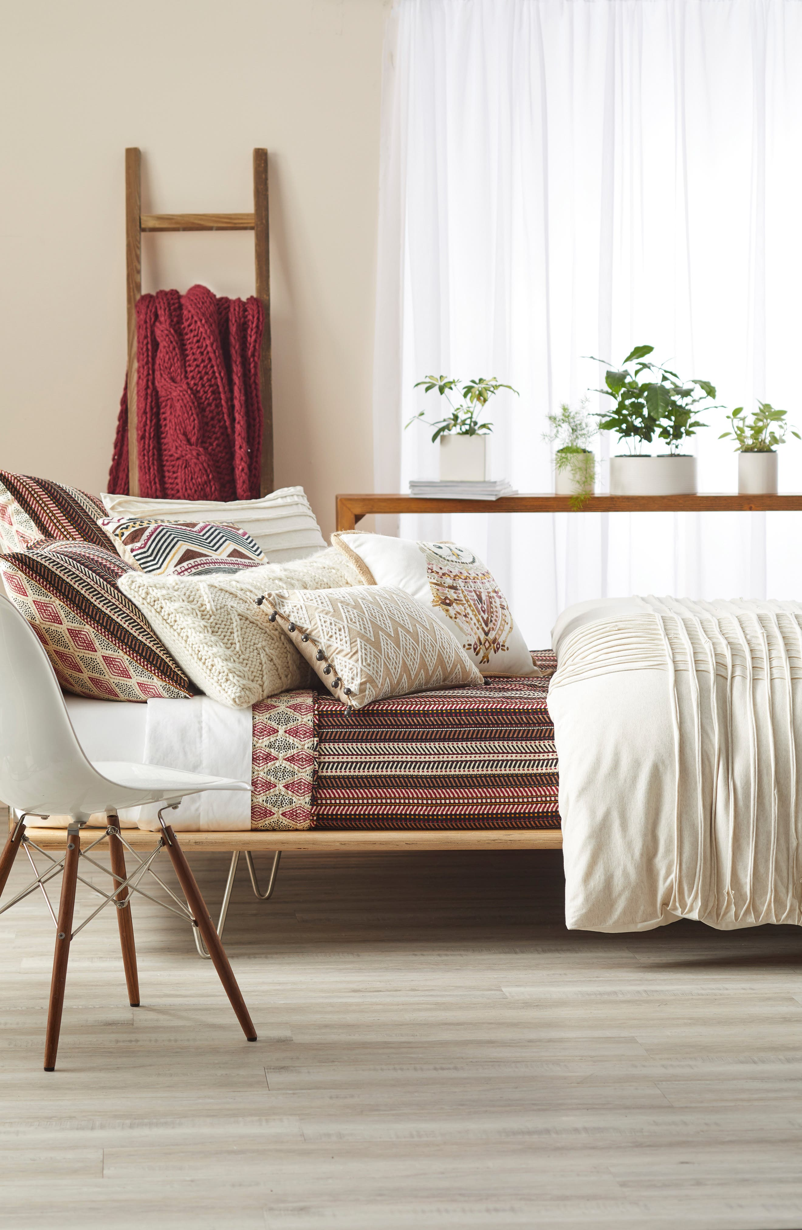 Levtex Zander Quilt & Nordstrom at Home Jersey Grid Bedding Collection