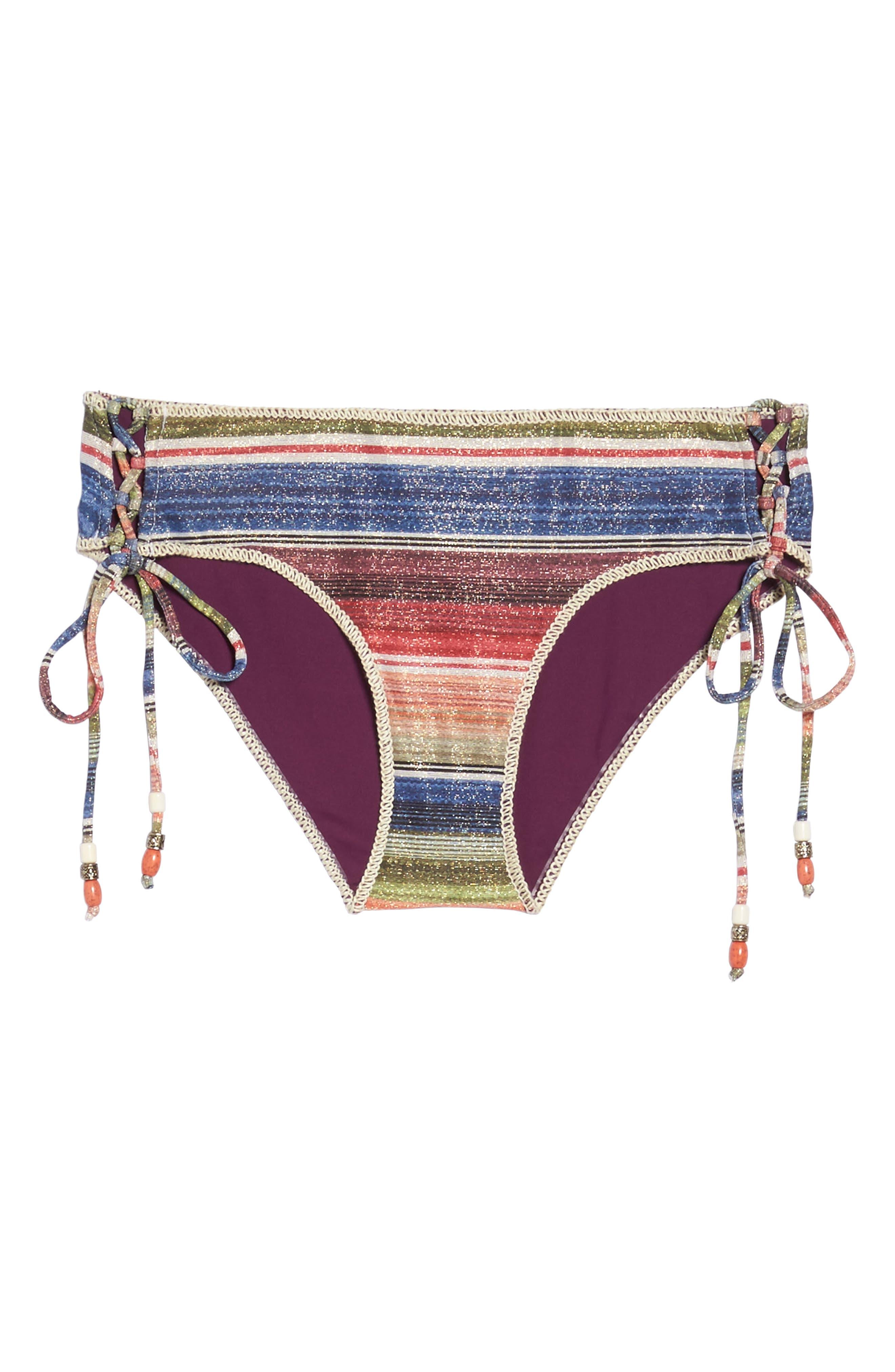 Alternate Image 6  - Becca West Village Hipster Bikini Bottoms