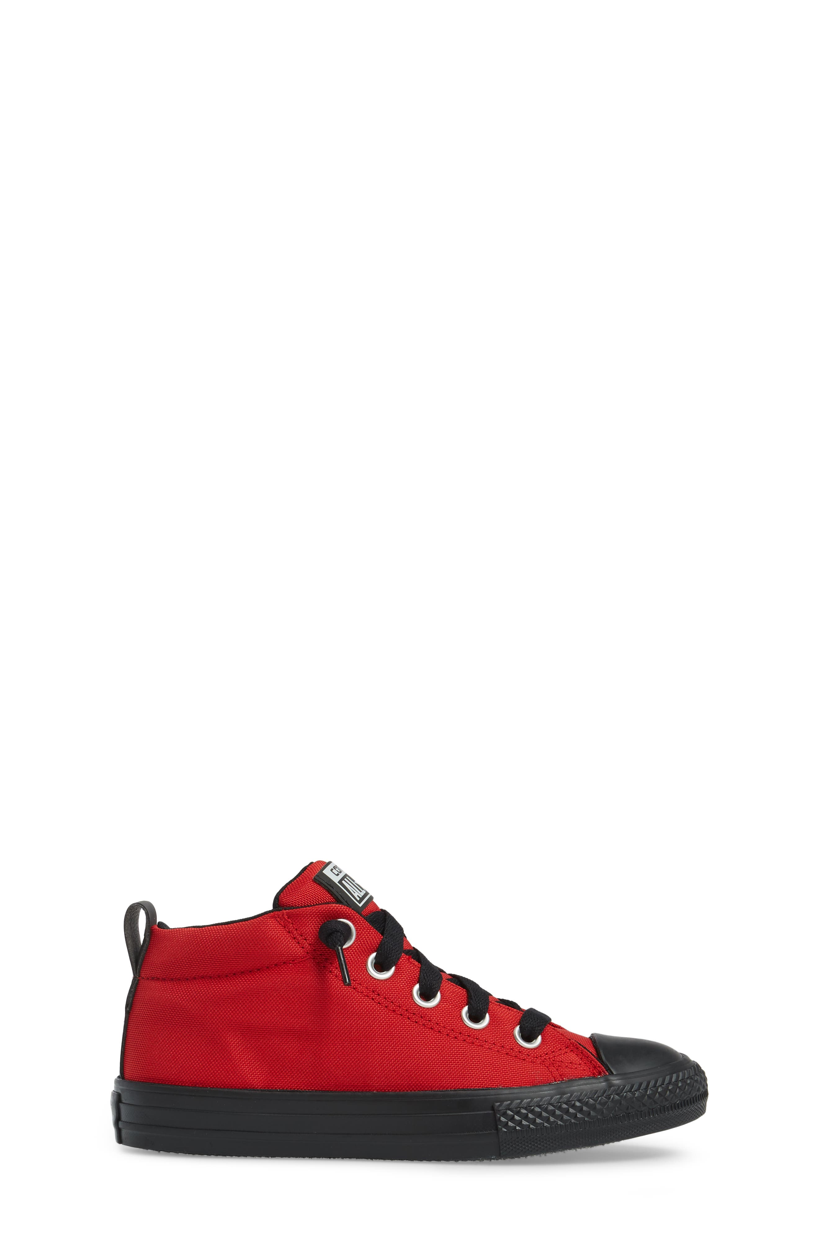Alternate Image 3  - Converse Chuck Taylor® All Star® Street Mid Top Sneaker (Baby, Walker, Toddler, Little Kid & Big Kid)