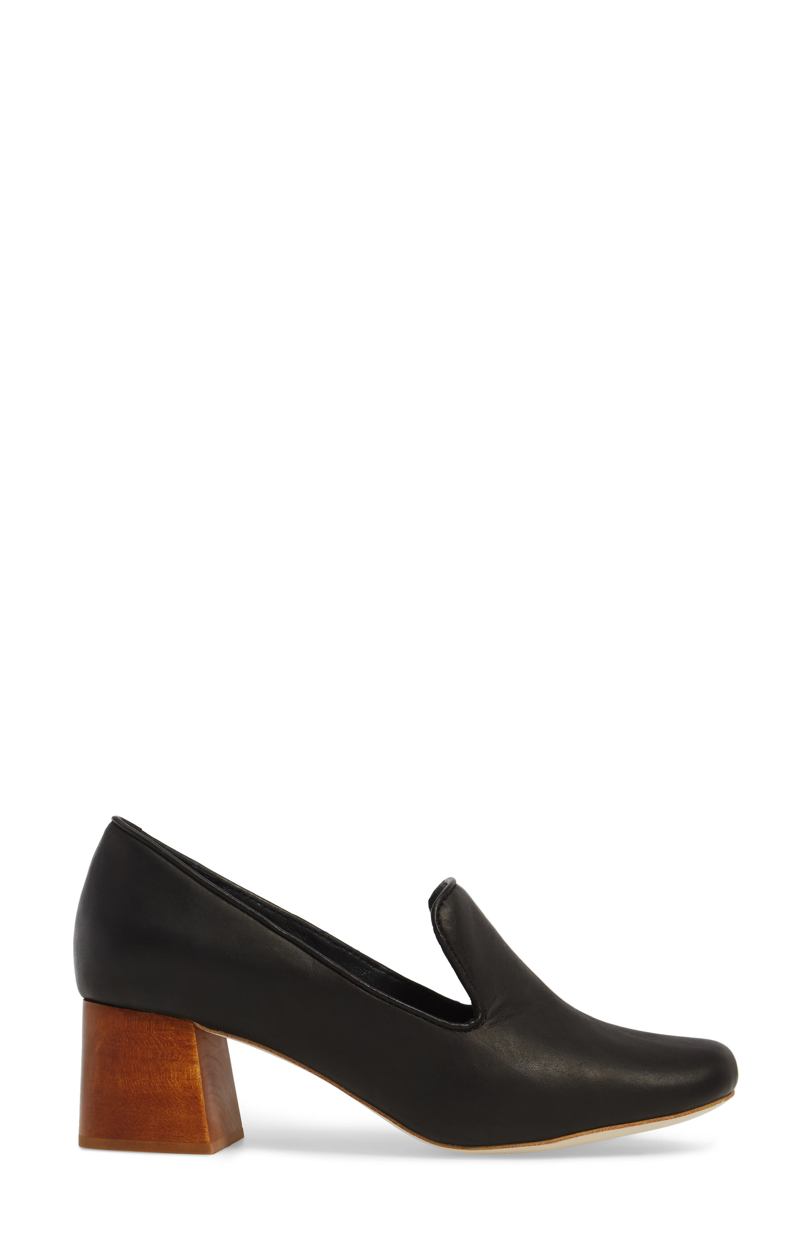 Alternate Image 3  - Jeffrey Campbell Lister Flared Heel Loafer Pump (Women)