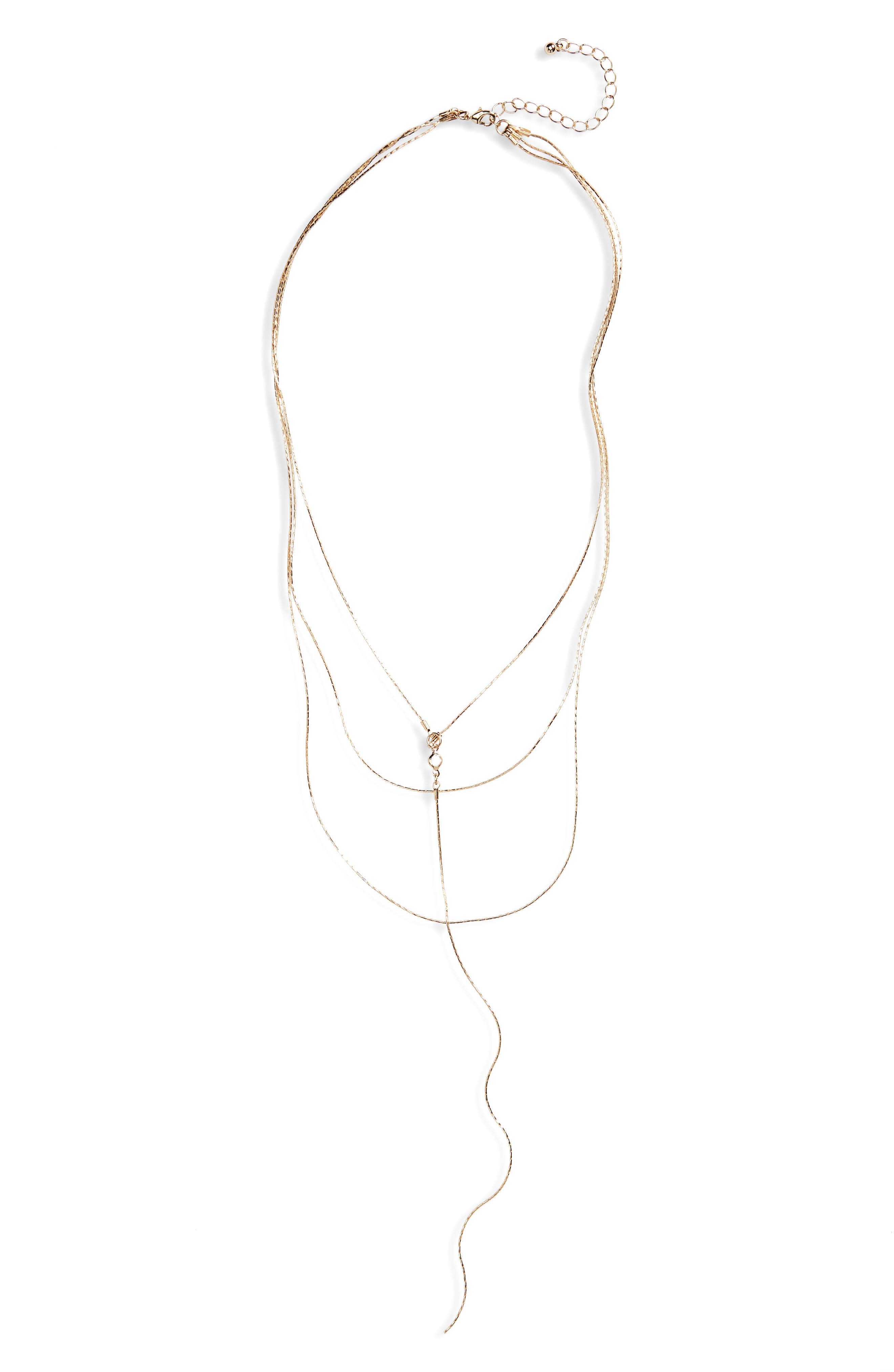 BP. Layered Y-Necklace