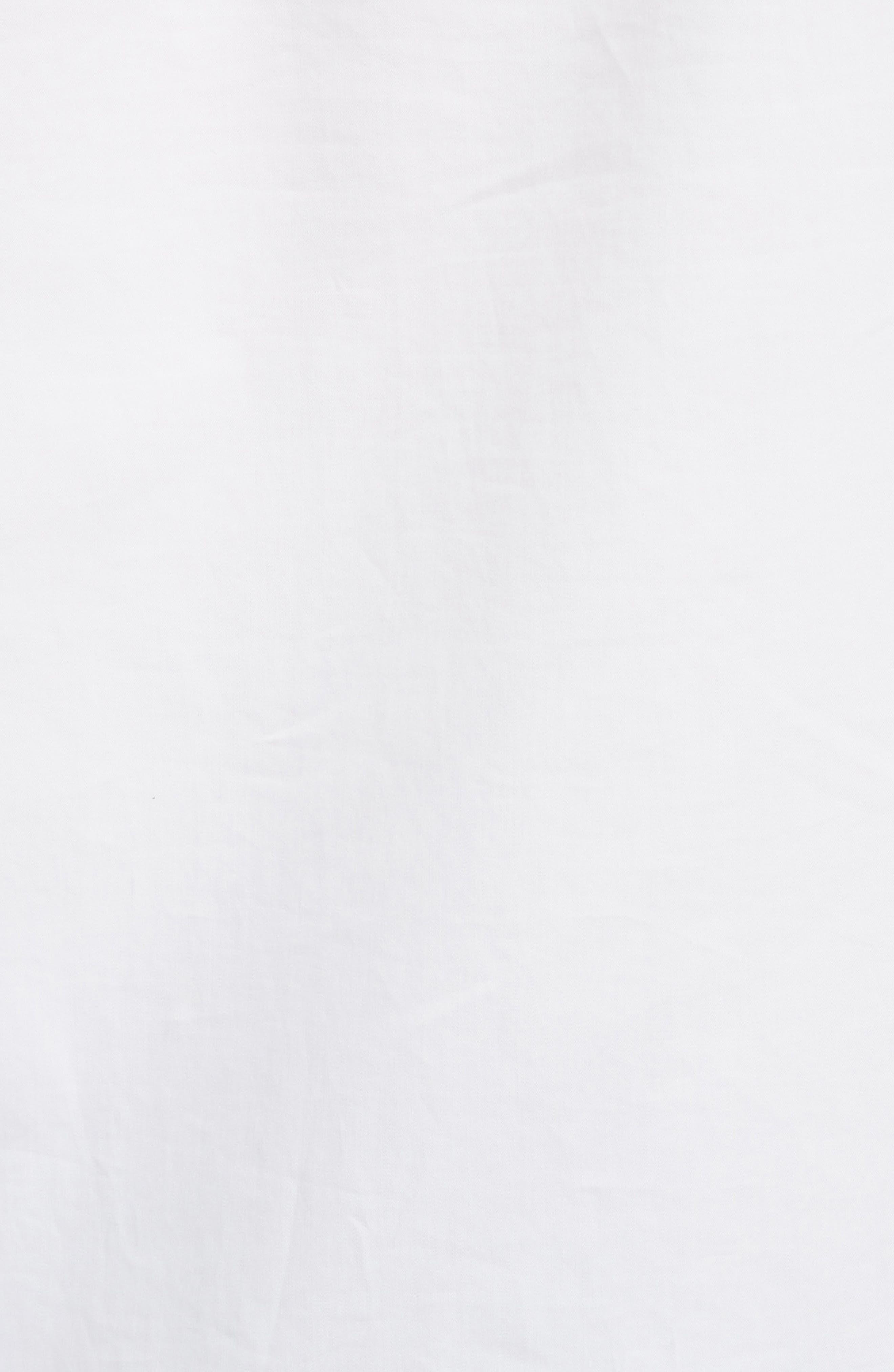 Spectator Ruffle Blouse,                             Alternate thumbnail 5, color,                             White