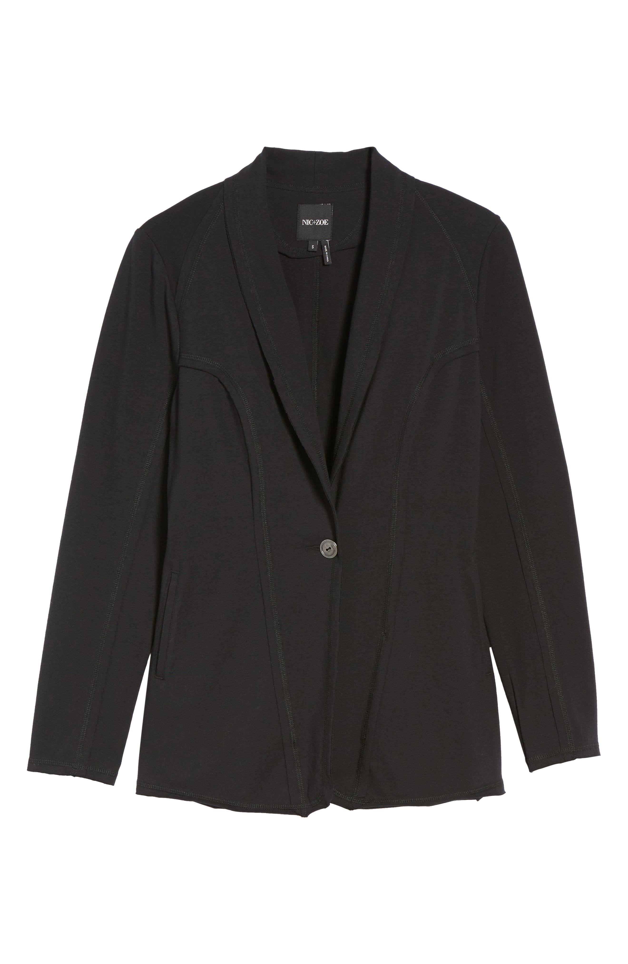 The Perfect Jacket,                             Alternate thumbnail 6, color,                             Black Onyx