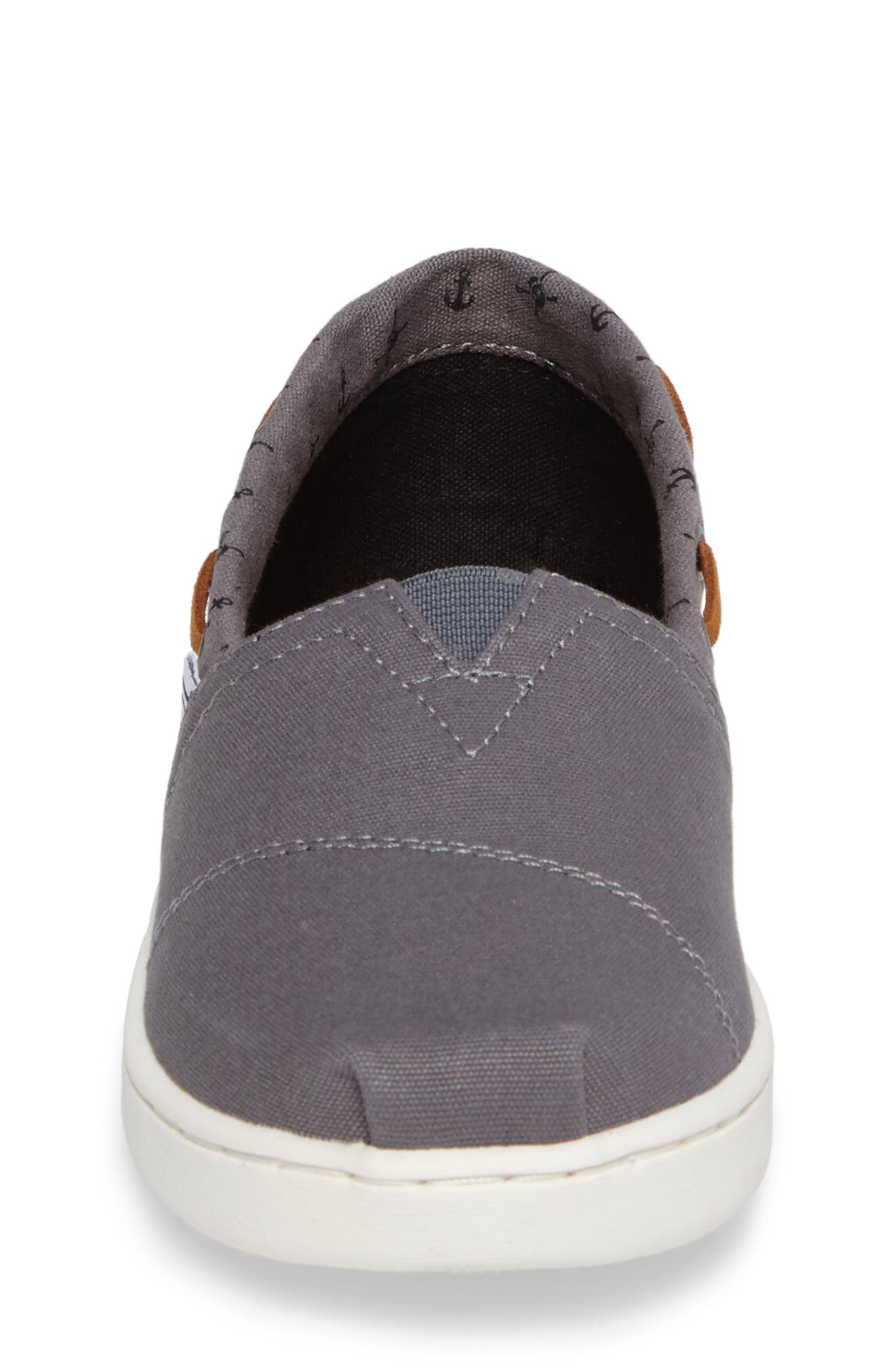Alternate Image 4  - TOMS Bimini Boat Shoe Sneaker (Toddler, Little Kid & Big Kid)