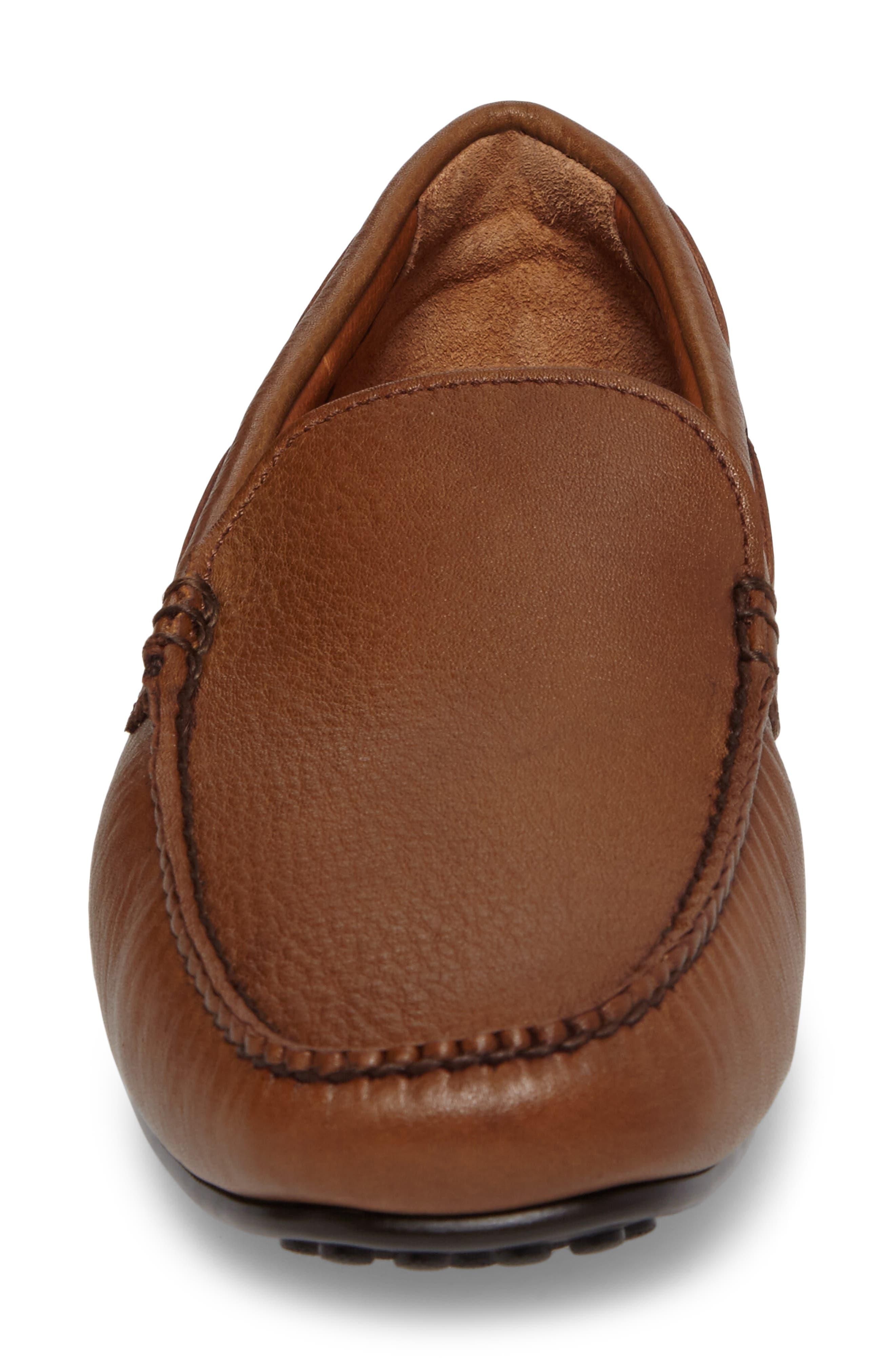 Allen Driving Shoe,                             Alternate thumbnail 5, color,                             Cognac