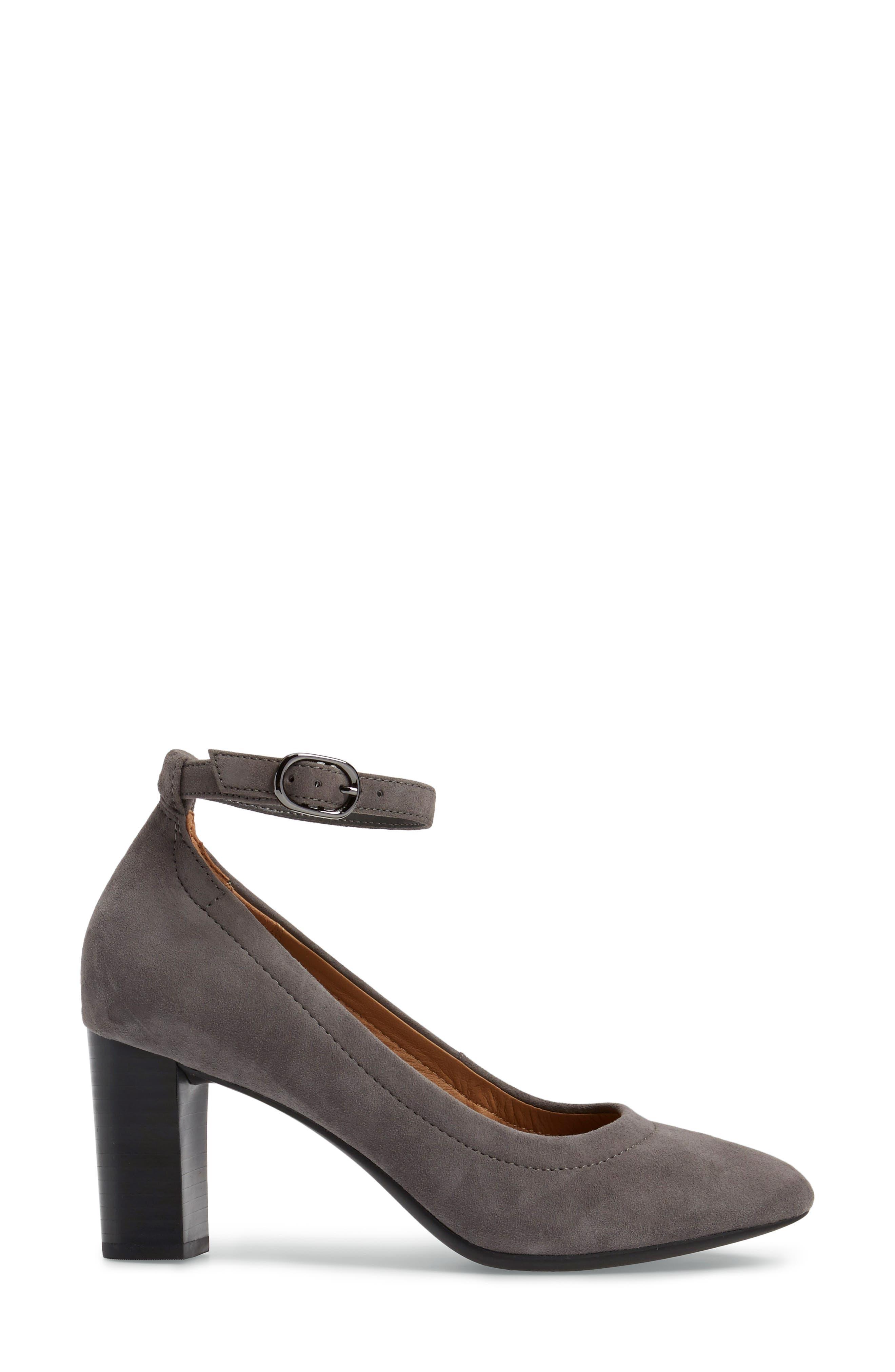 Alternate Image 3  - Clarks® Chryssa Jana Ankle Strap Pump (Women)