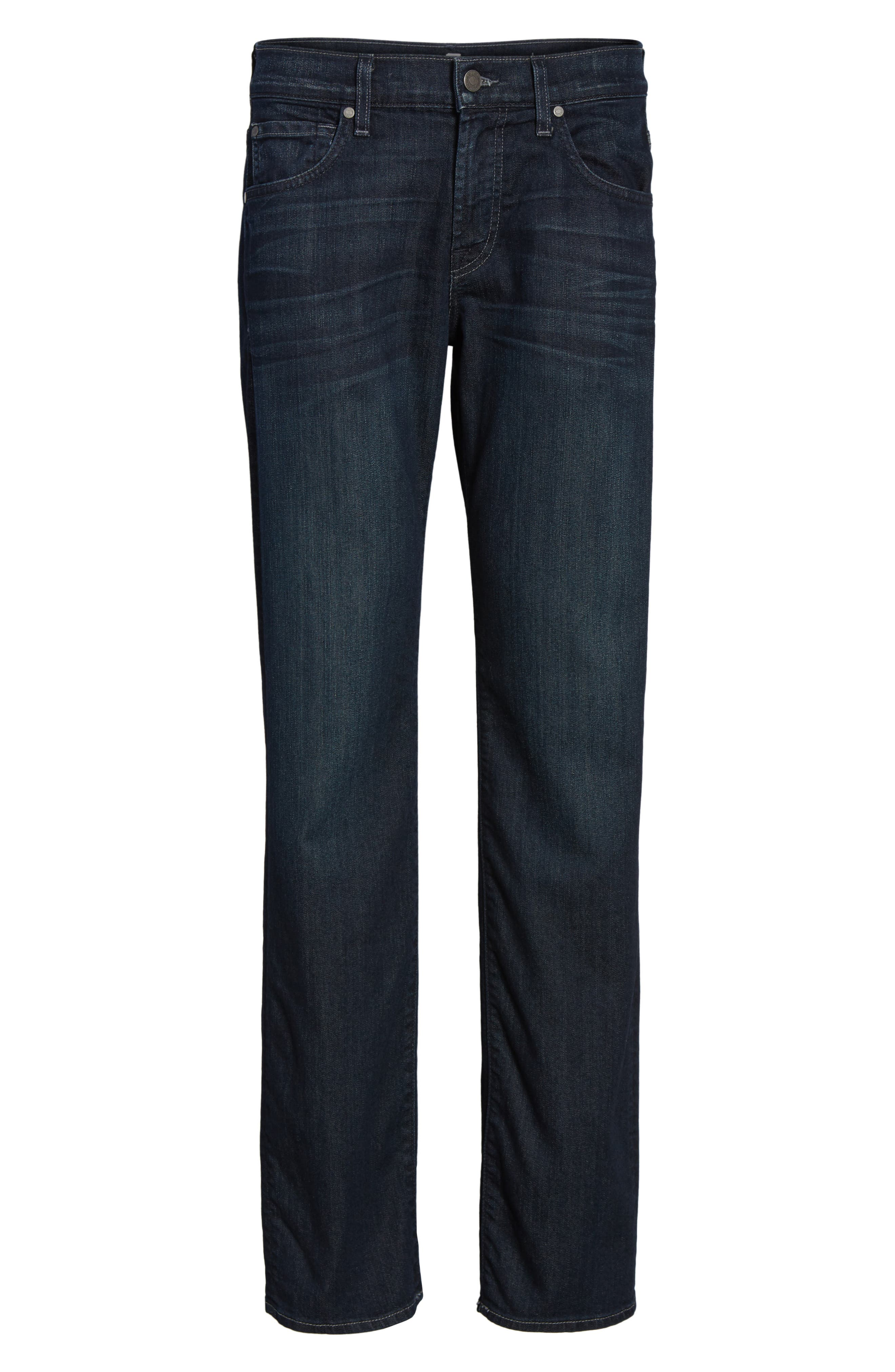 Alternate Image 6  - 7 For All Mankind® Airweft - Austyn Relaxed Straight Leg Jeans (Perennial)