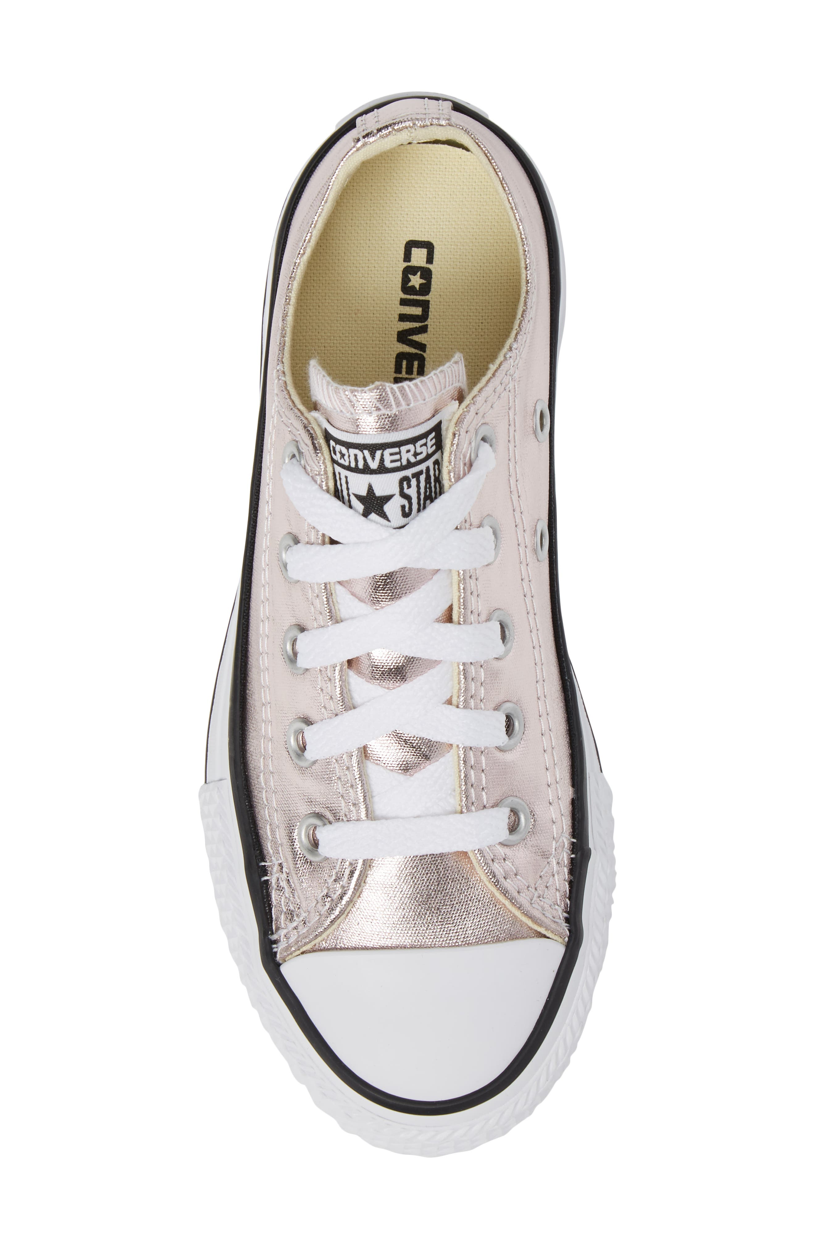 Alternate Image 5  - Converse Chuck Taylor® All Star® Ox Metallic Low Top Sneaker (Toddler & Little Kid)