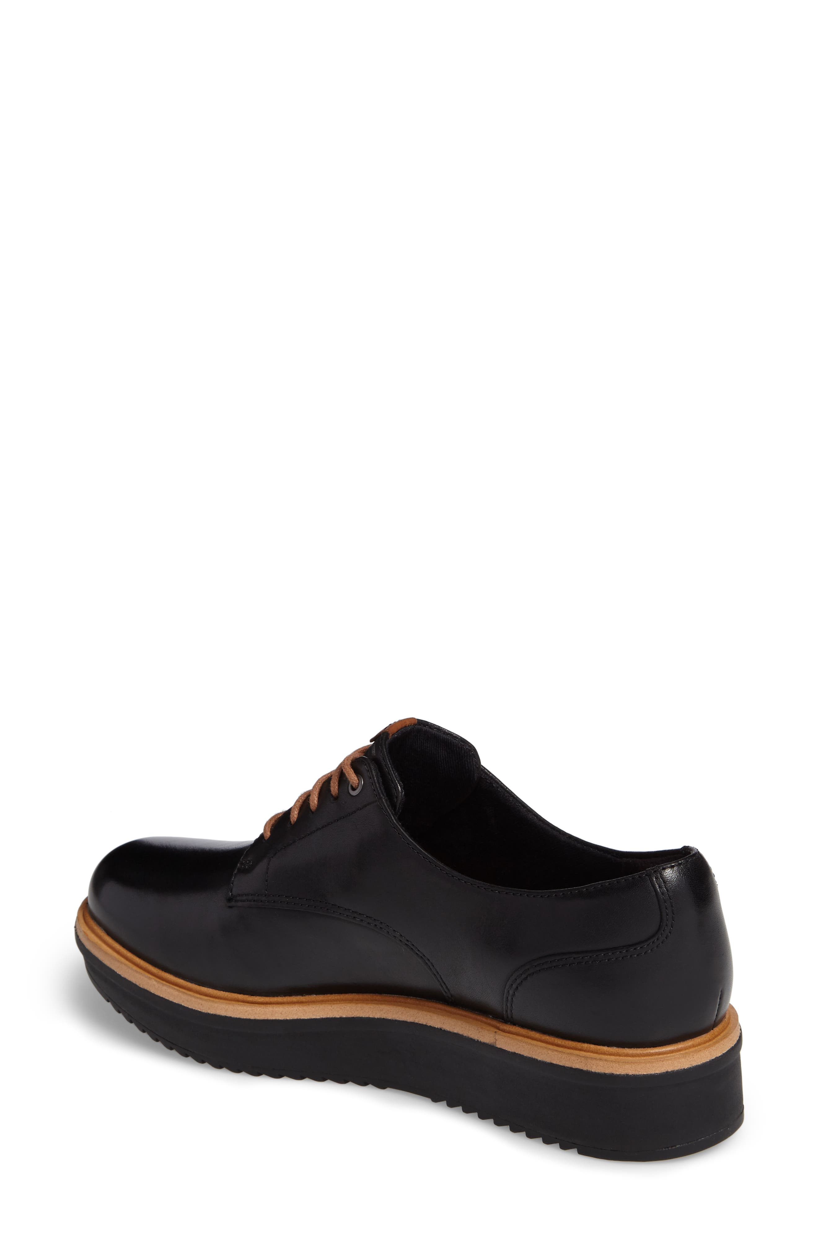 Alternate Image 2  - Clarks® Teadale Rhea Platform Oxford (Women)