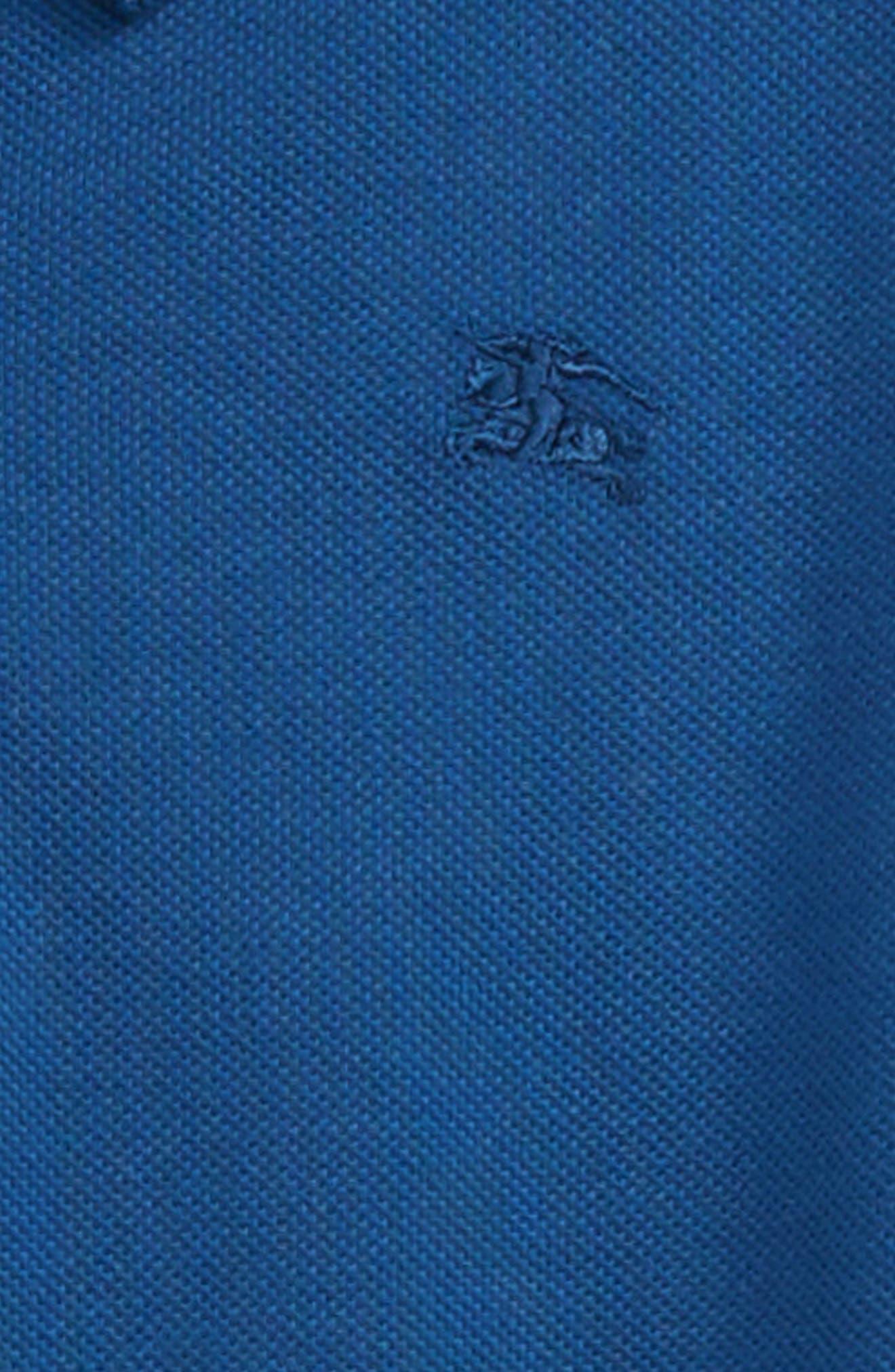 Alternate Image 2  - Burberry Cotton Polo (Little Boys & Big Boys)