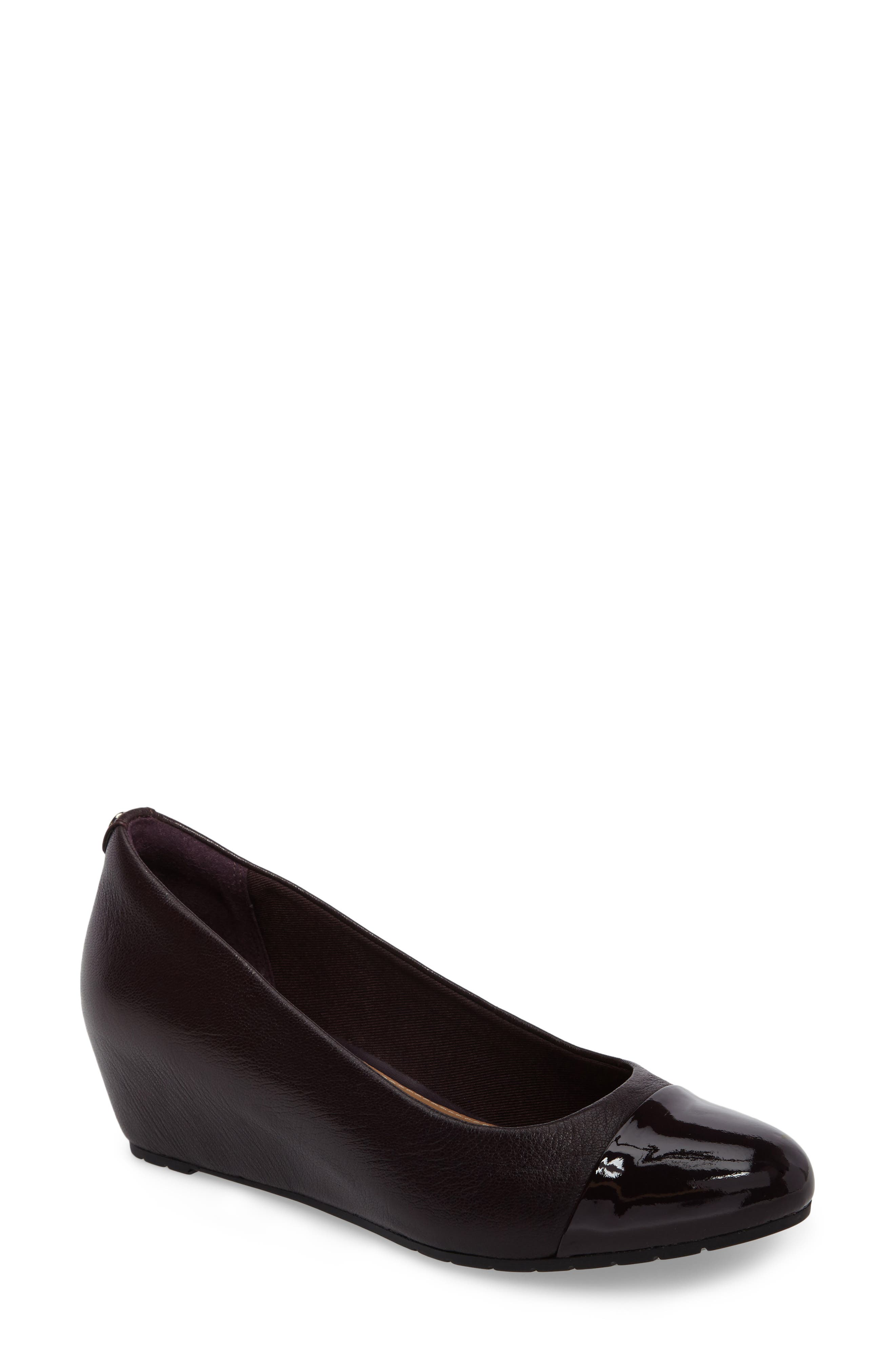 Clarks® Vendra Dune Wedge Pump (Women)