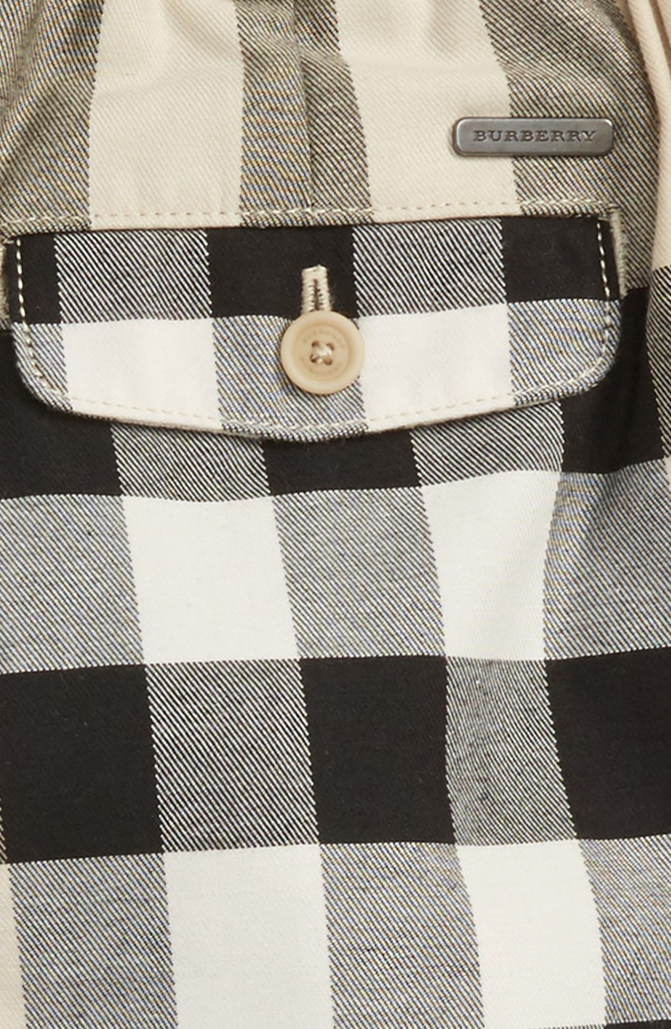 Alternate Image 3  - Burberry Sean Check Print Shorts (Toddler Boys)