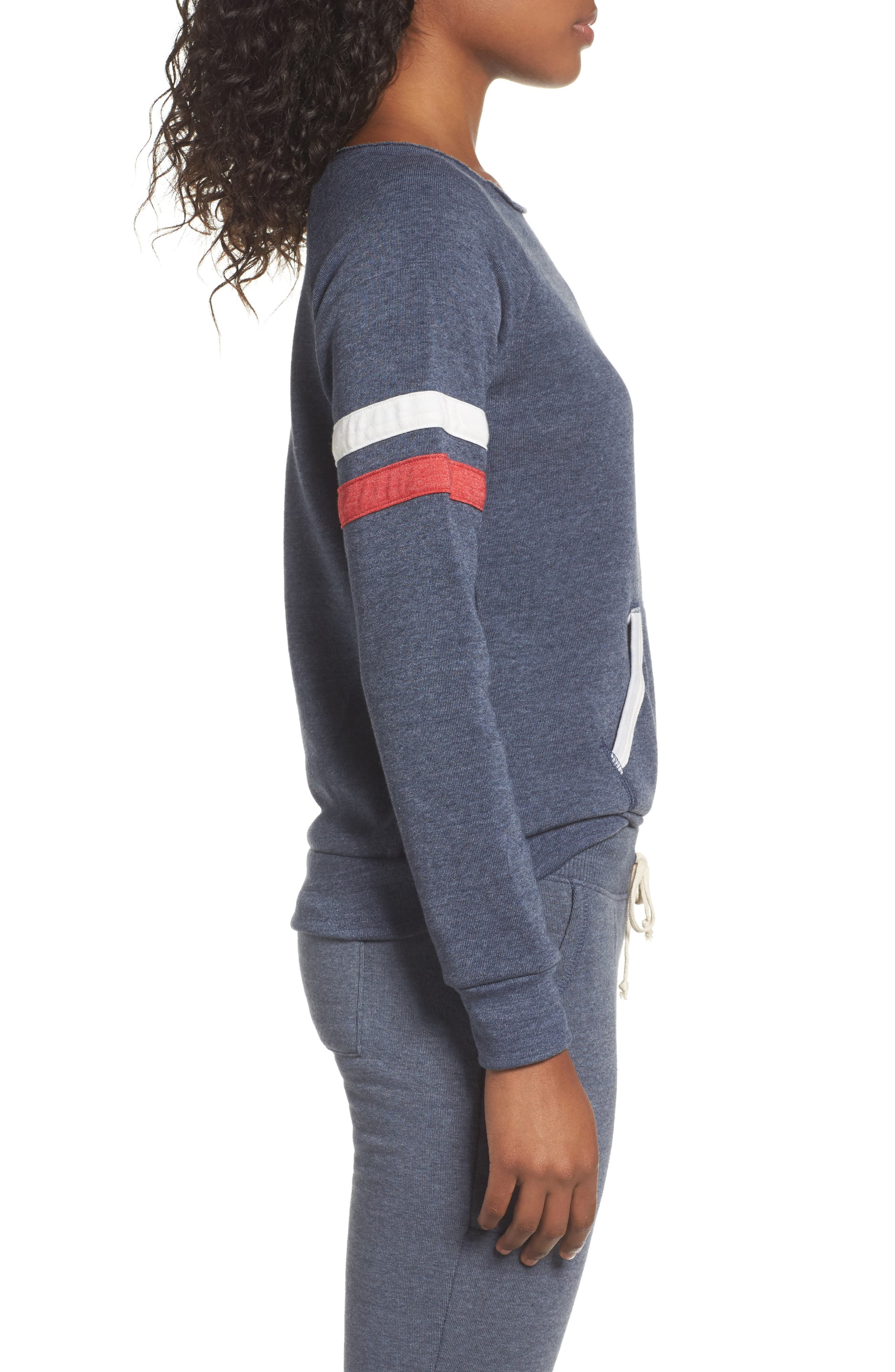 Maniac Sport Pullover,                             Alternate thumbnail 3, color,                             Eco True Navy