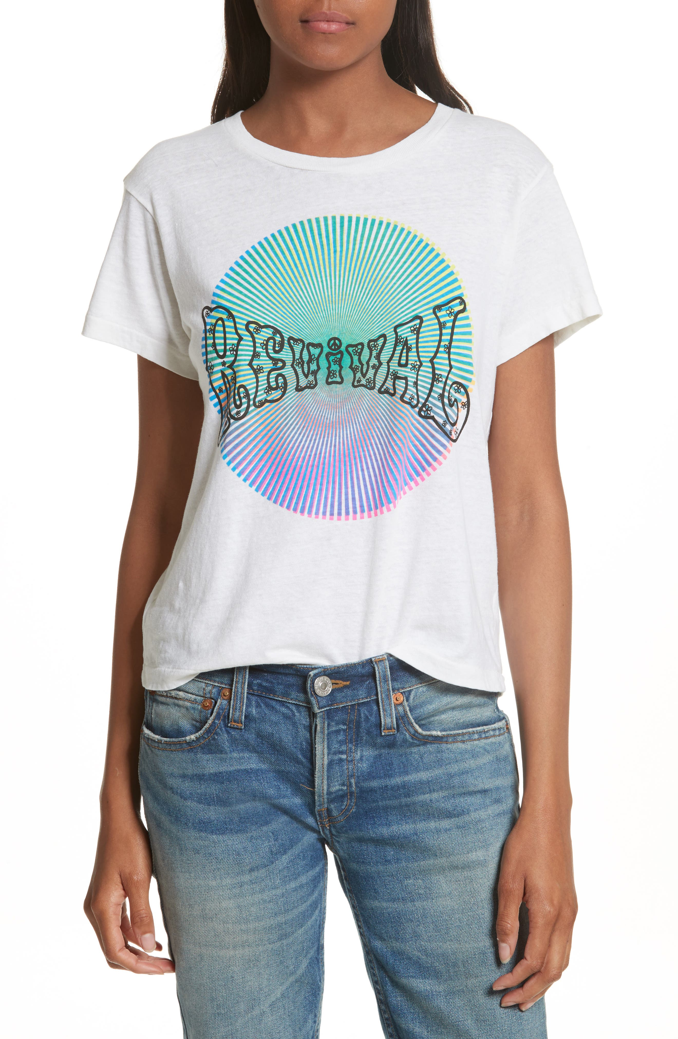 Revival Graphic Tee,                         Main,                         color, Vintage White