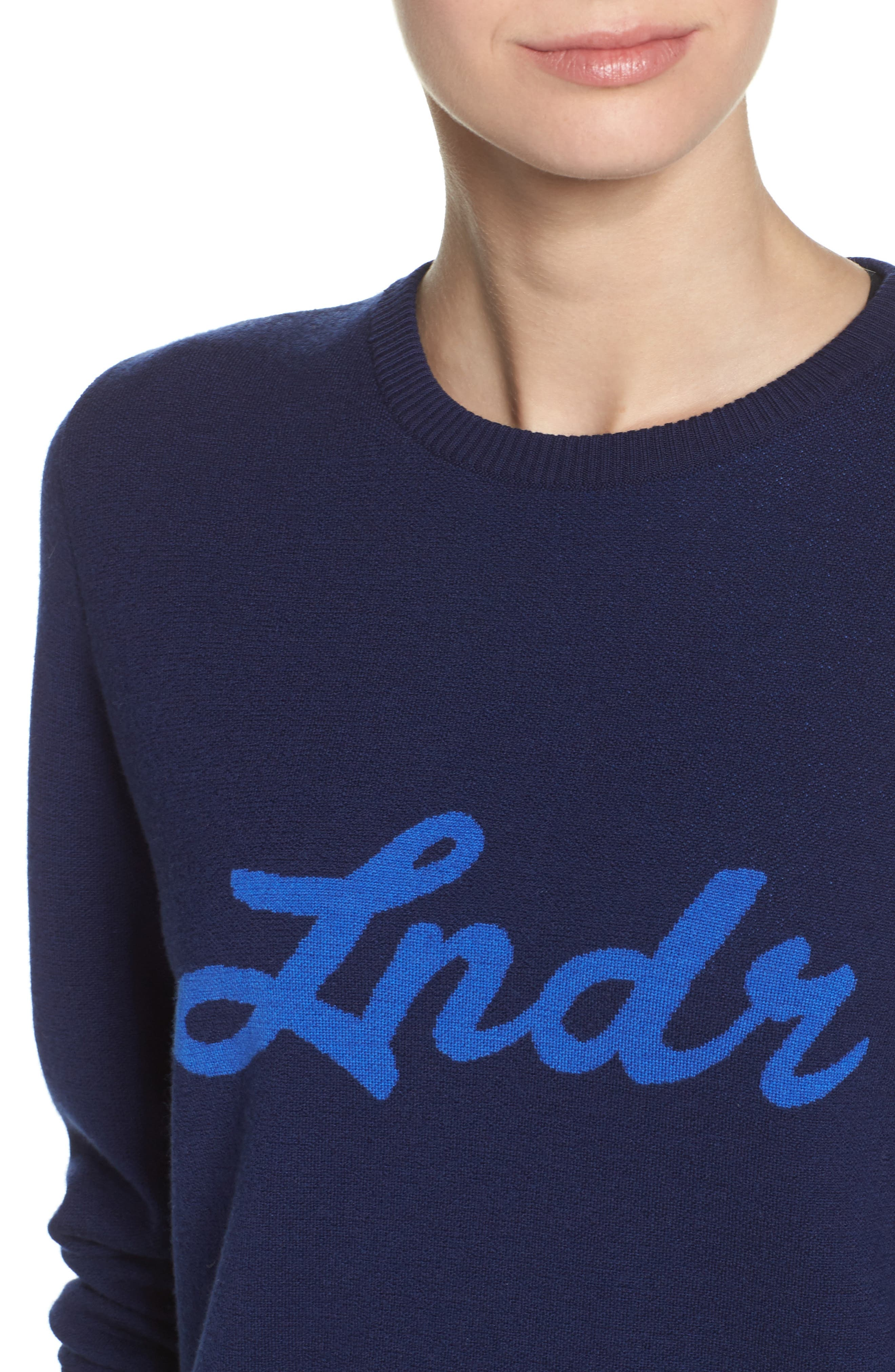 Alternate Image 4  - LNDR Double Happiness Pullover