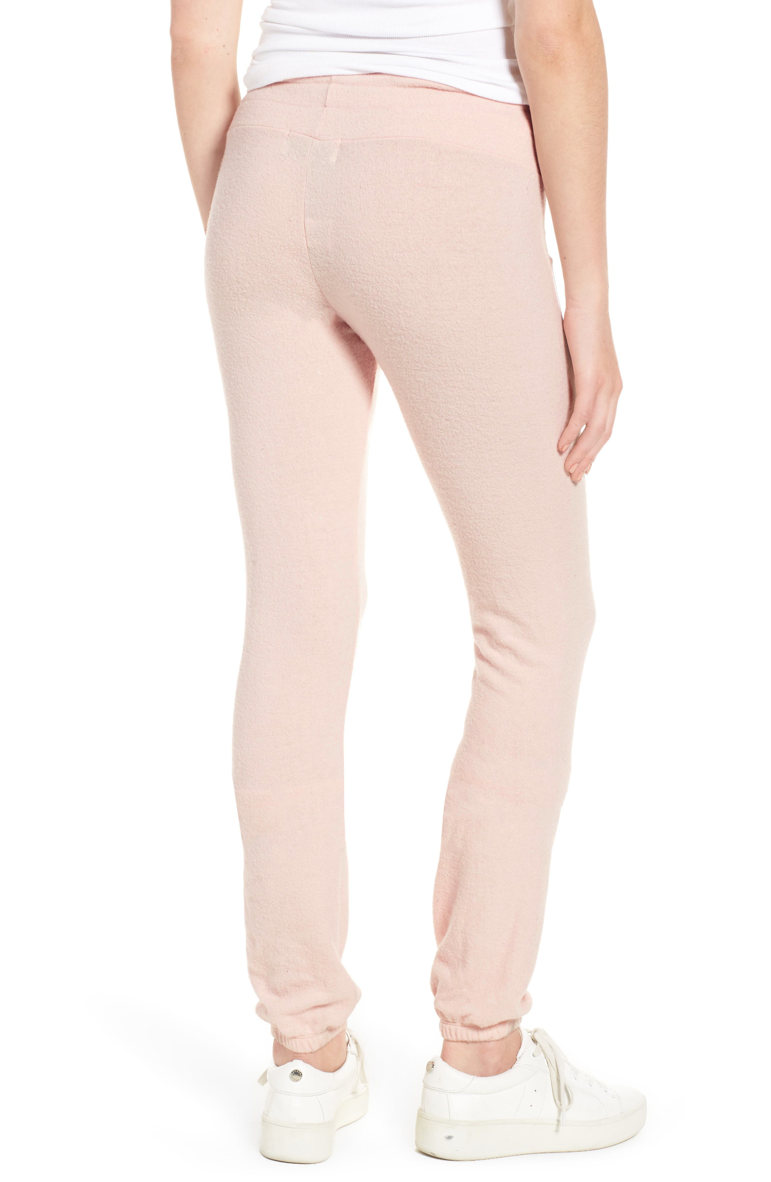 Rosé All Day Skinny Pants,                             Alternate thumbnail 3, color,                             Rose