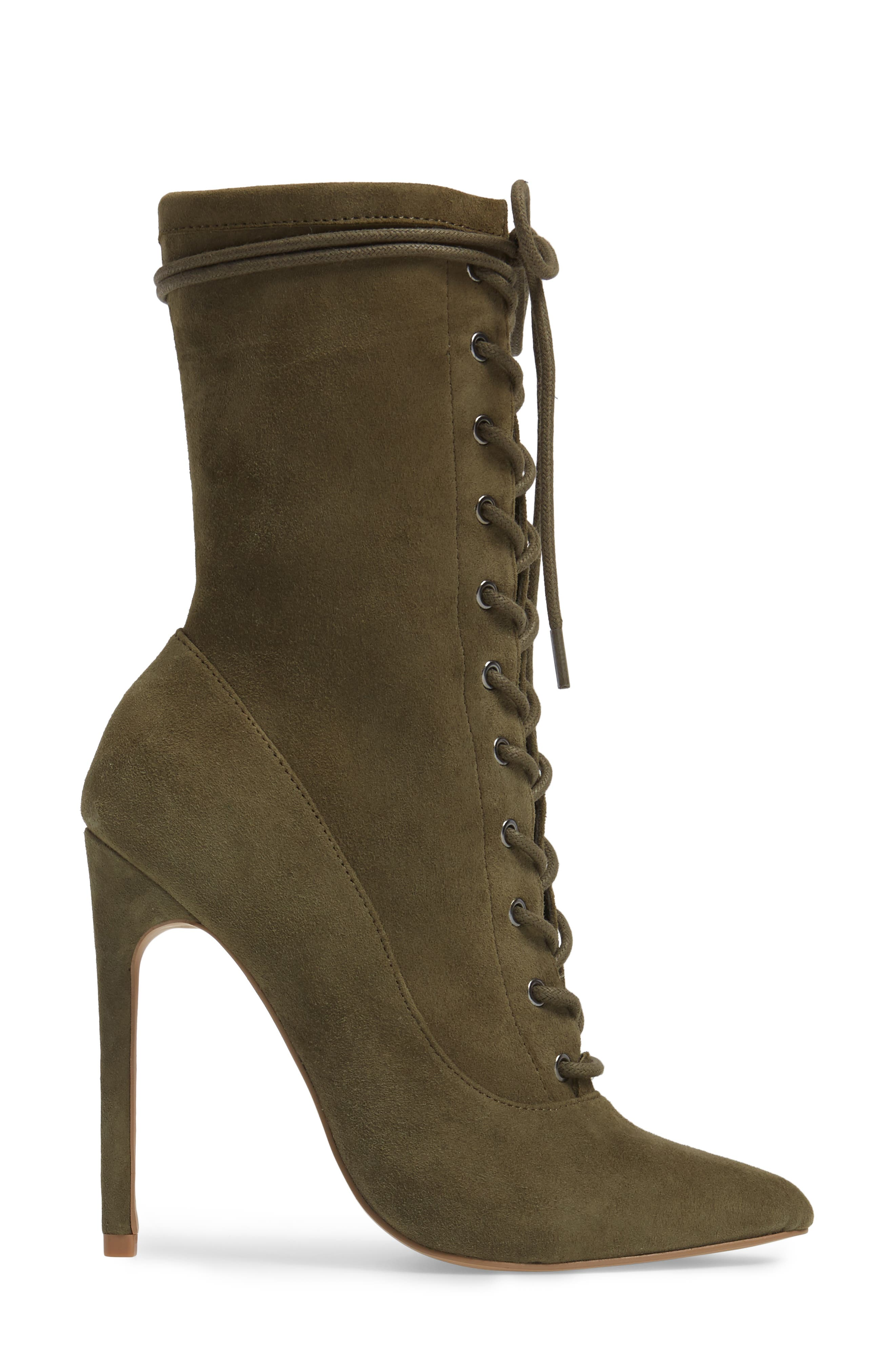 Alternate Image 3  - Steve Madden Satisfied Corset-Lace Bootie (Women)
