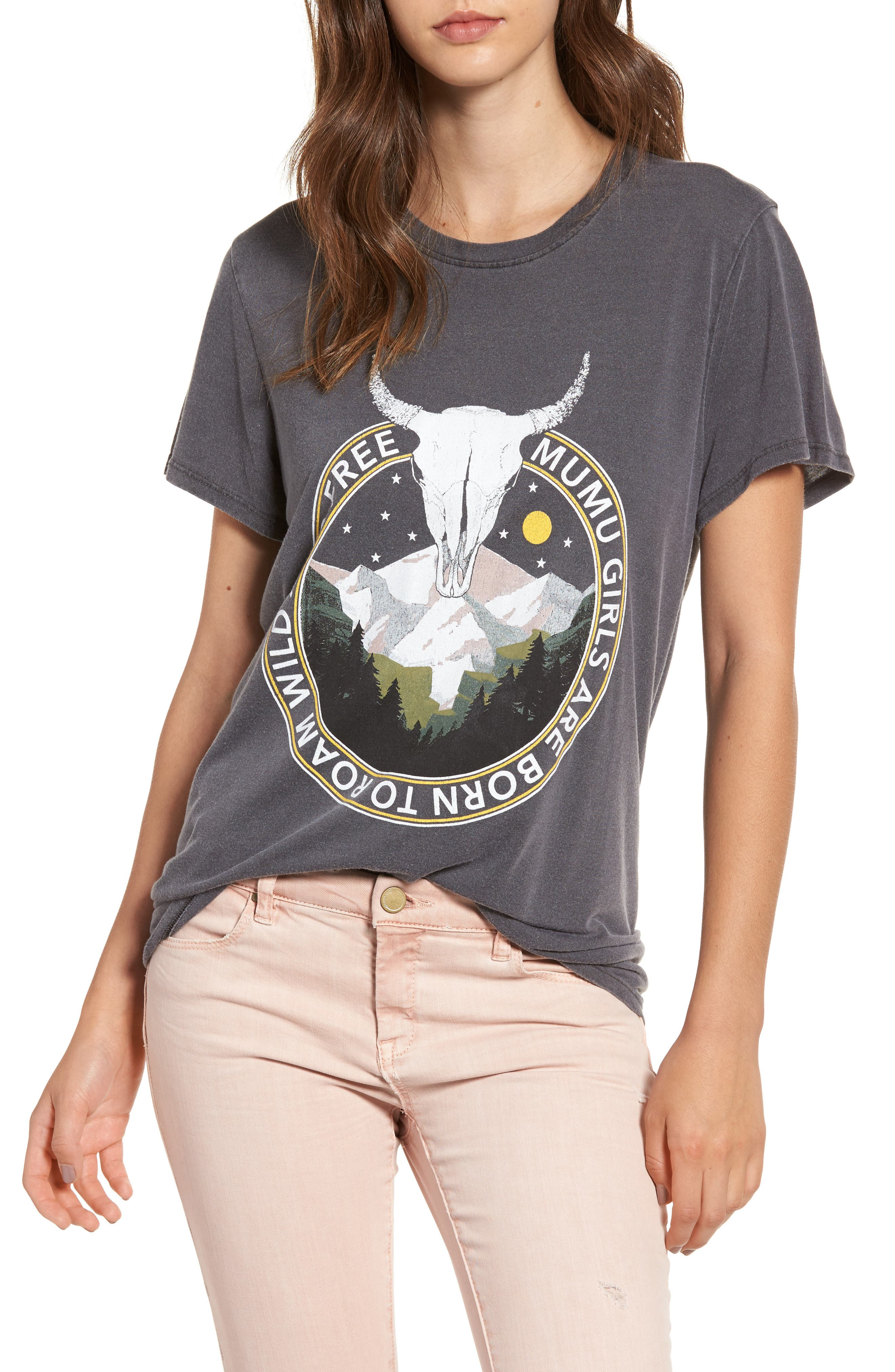 Oliver Graphic Tee,                             Main thumbnail 1, color,                             Mt. Bull Summit