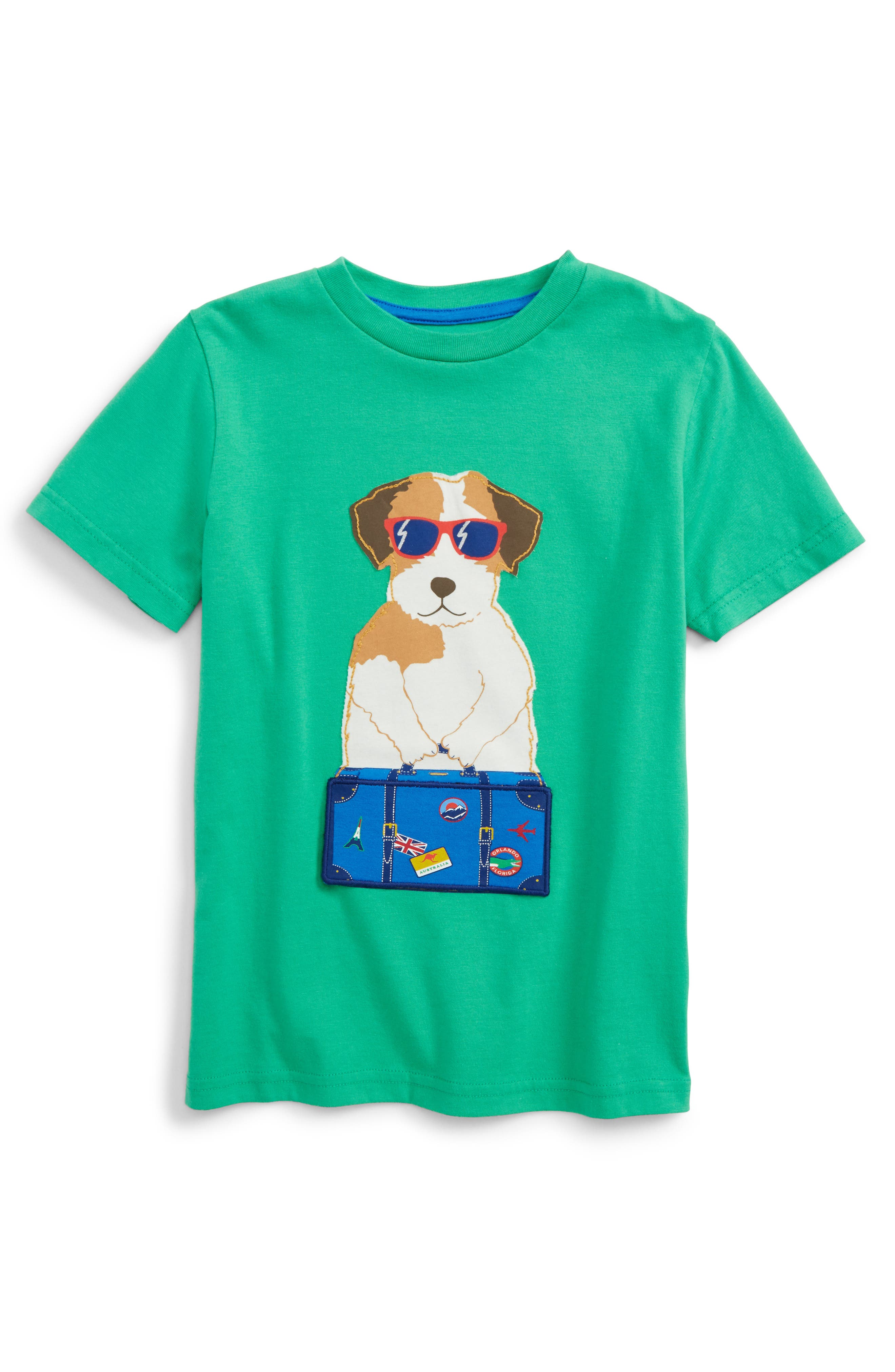 Mini boden animal appliqu t shirt for Shop mini boden
