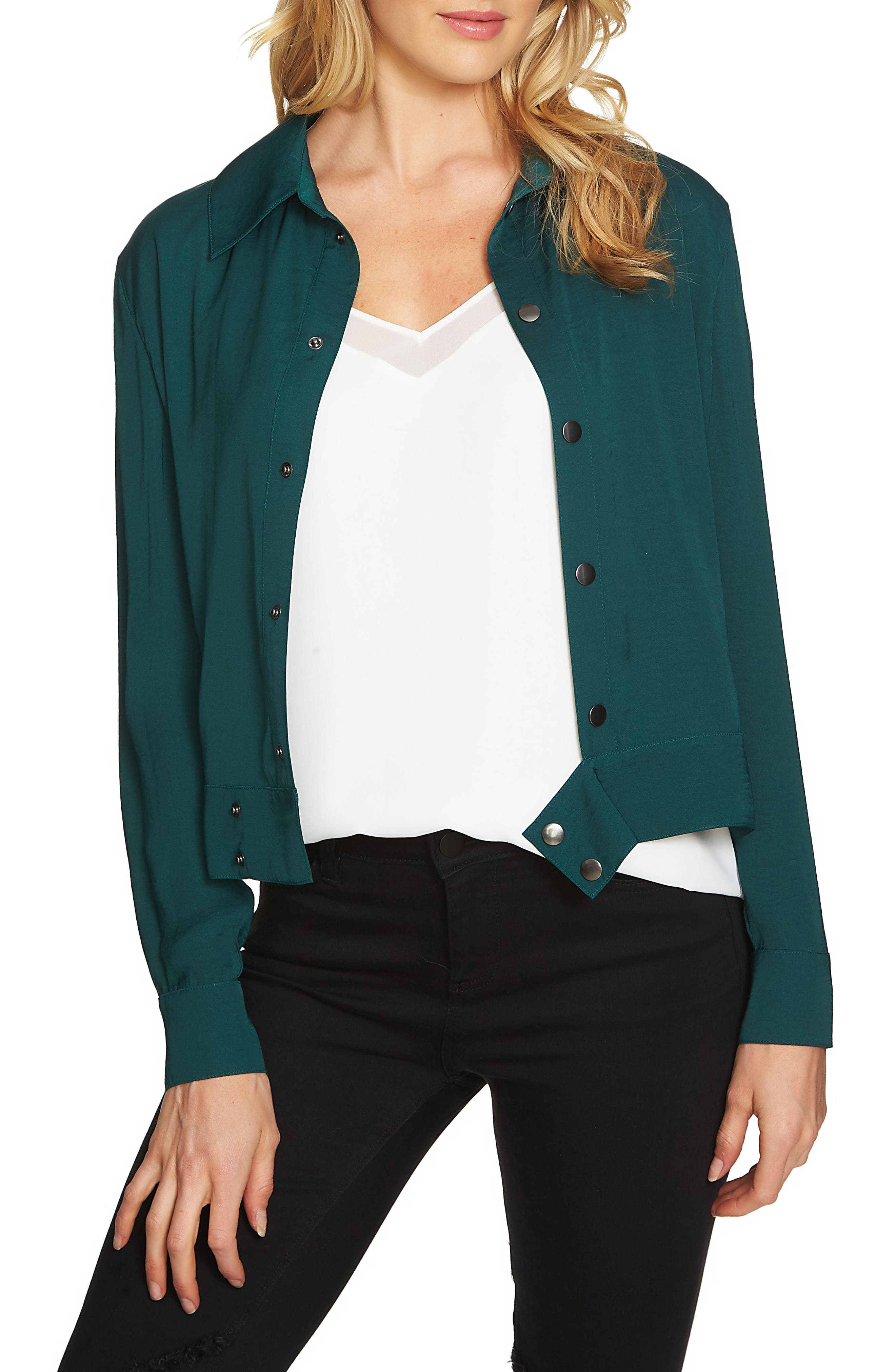 1.STATE Embroidered Jacket