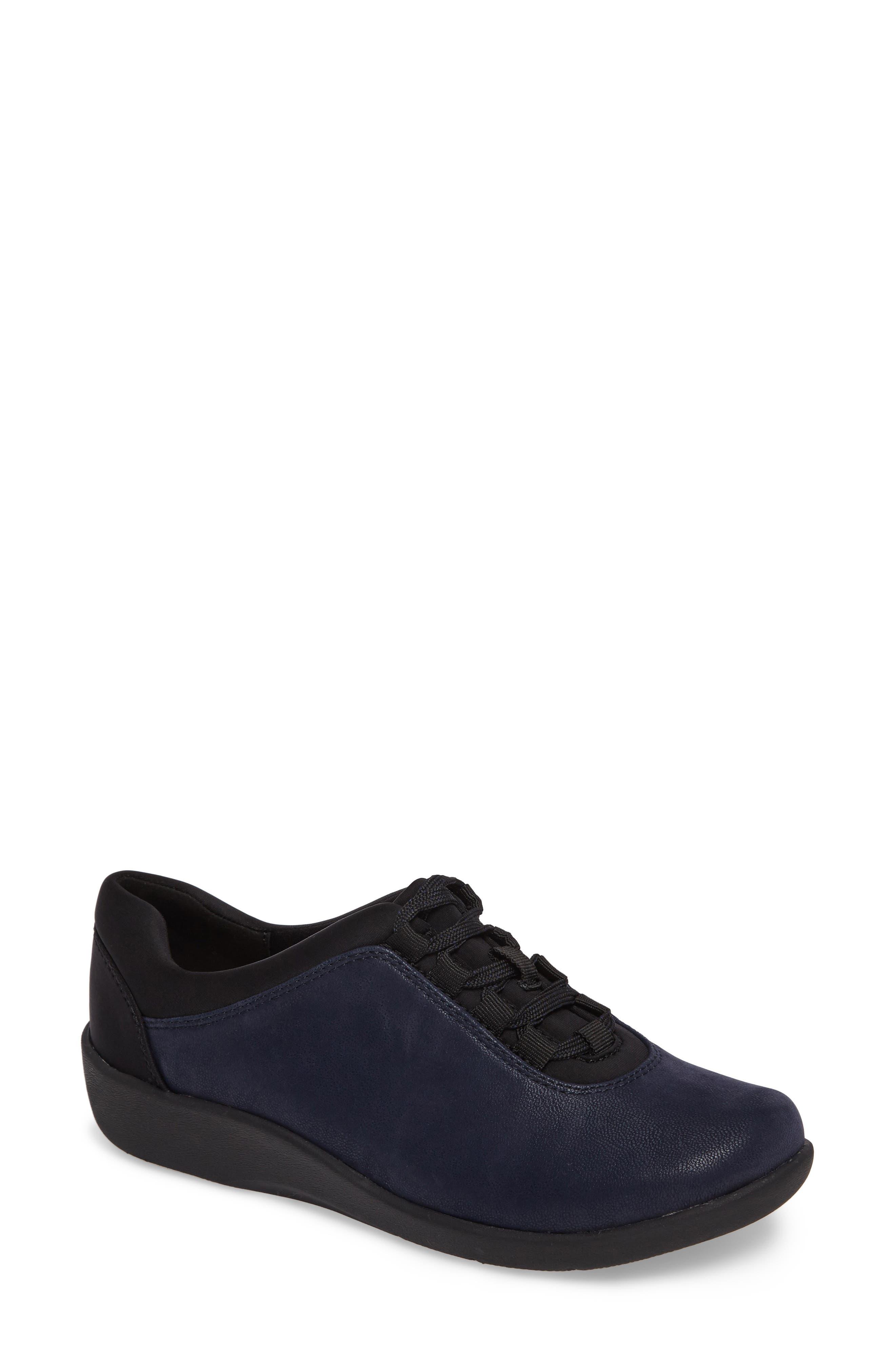 Sillian Pine Sneaker,                         Main,                         color, Navy Canvas