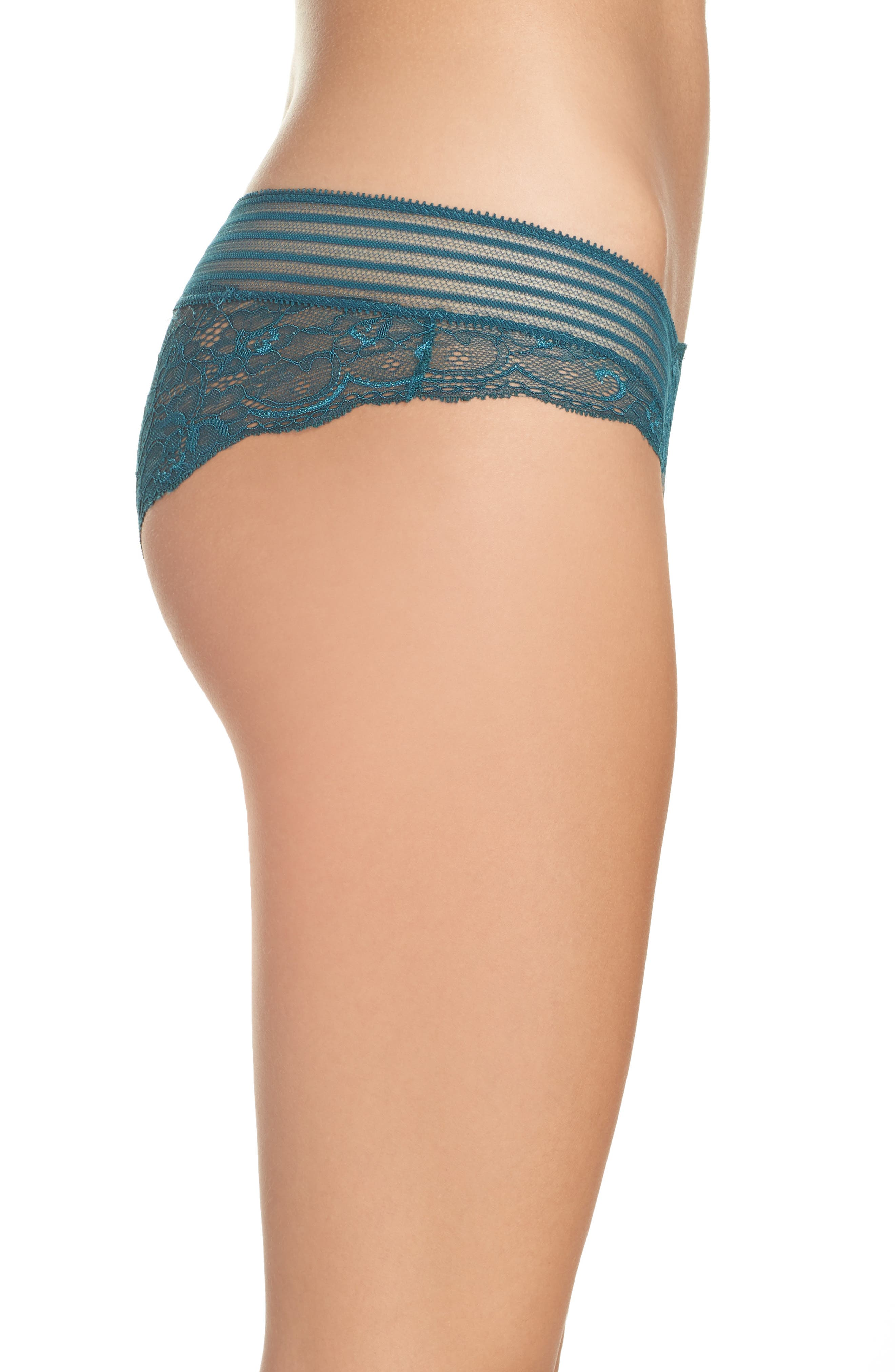 Alternate Image 3  - Sam Edelman Lace Hipster Panties (3 for $33)