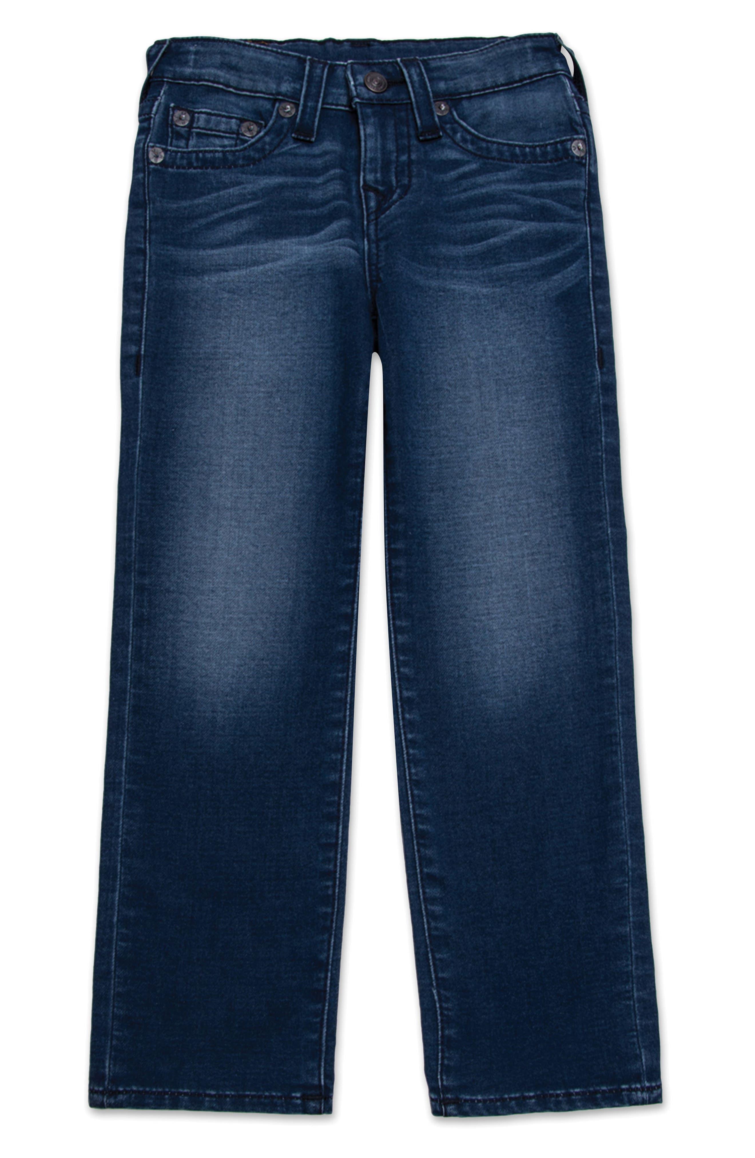 Geno Single End Straight Leg Jeans,                         Main,                         color, Avant Wash