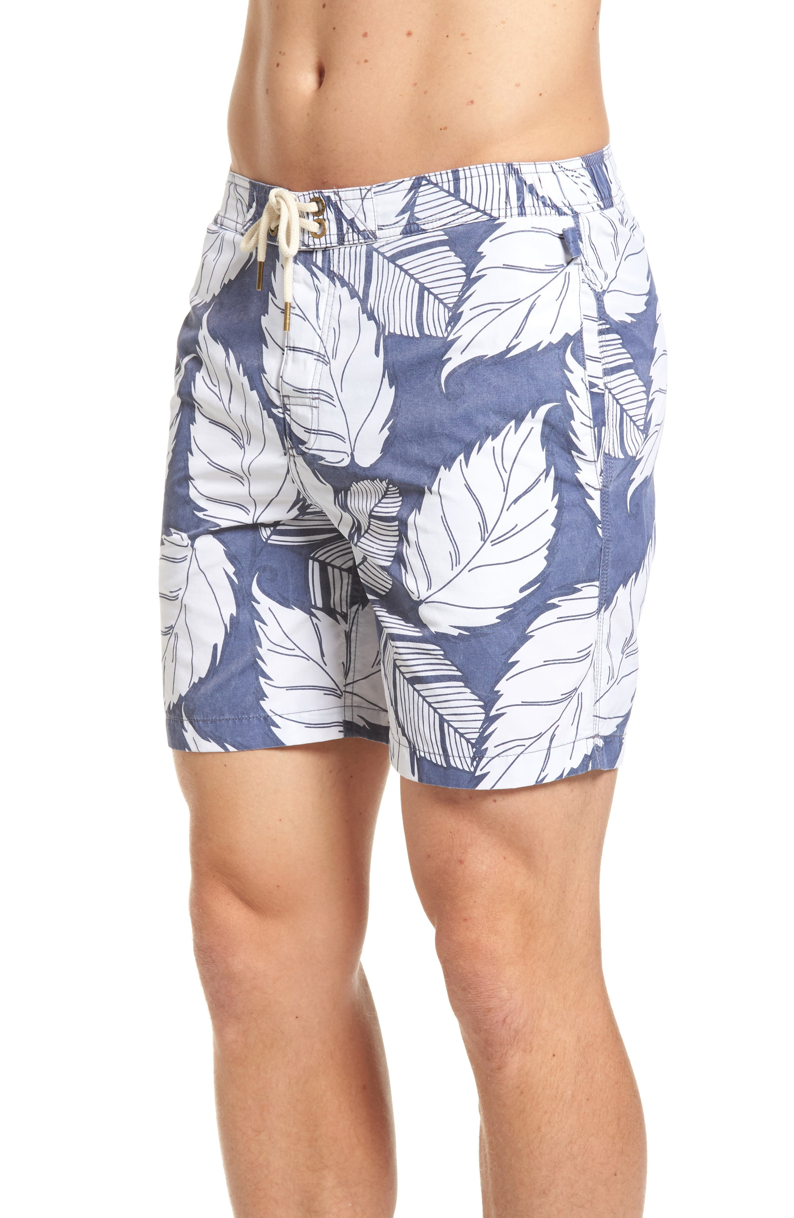 Montauk Board Shorts,                             Alternate thumbnail 3, color,                             Navy