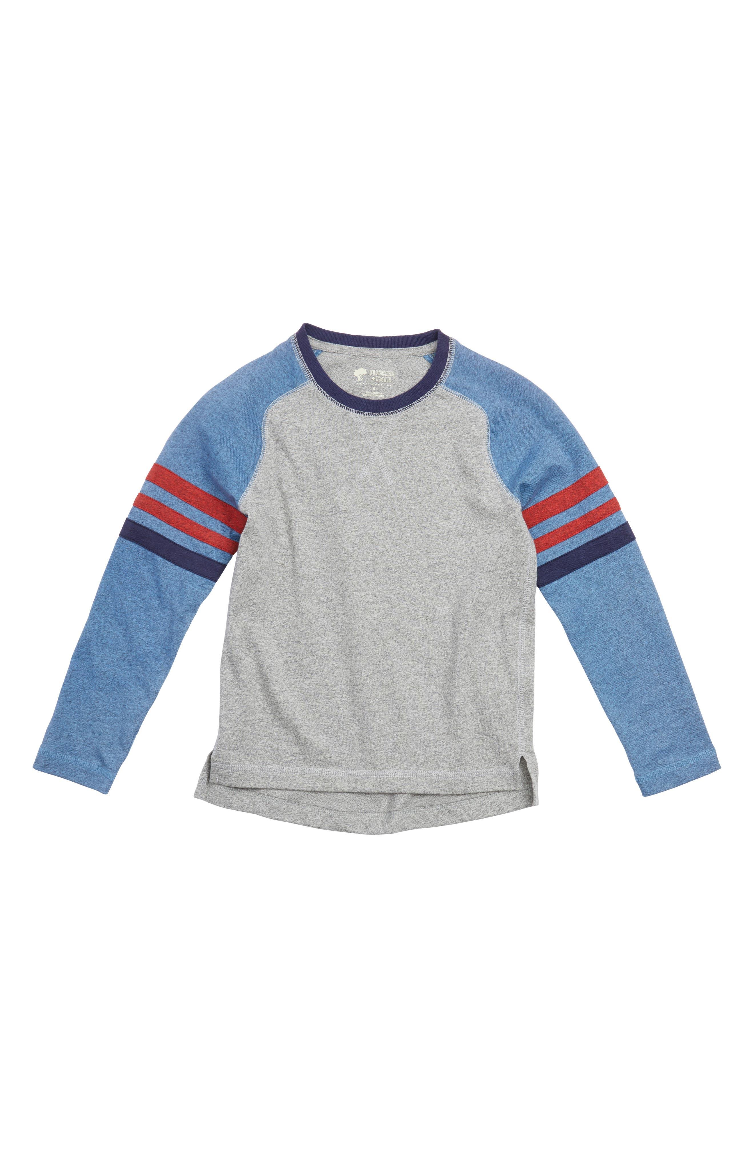 Main Image - Tucker + Tate Varsity Raglan T-Shirt (Toddler Boys & Little Boys)