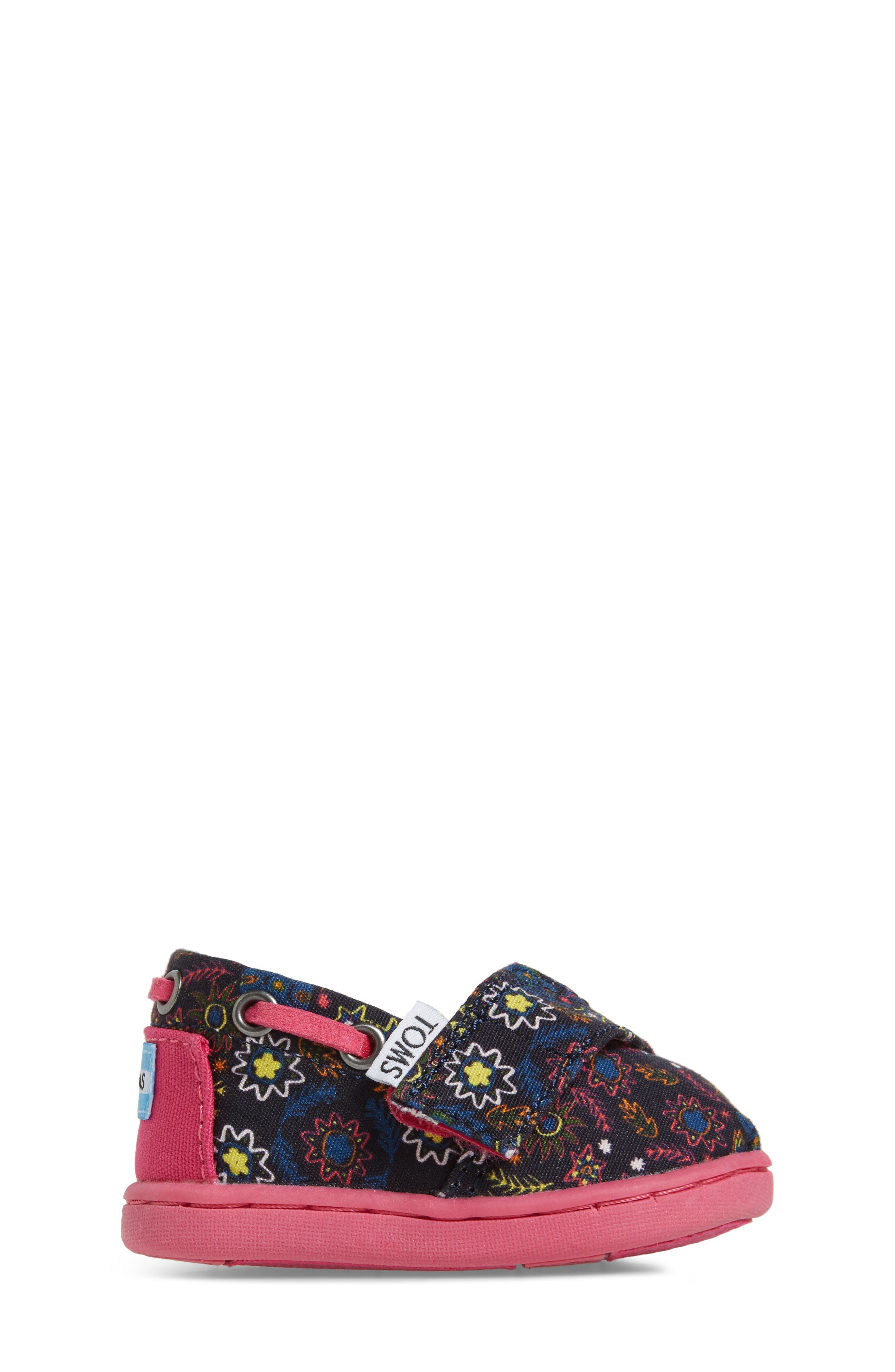 Bimini Print Slip-On,                             Alternate thumbnail 3, color,                             Navy Multi Canvas