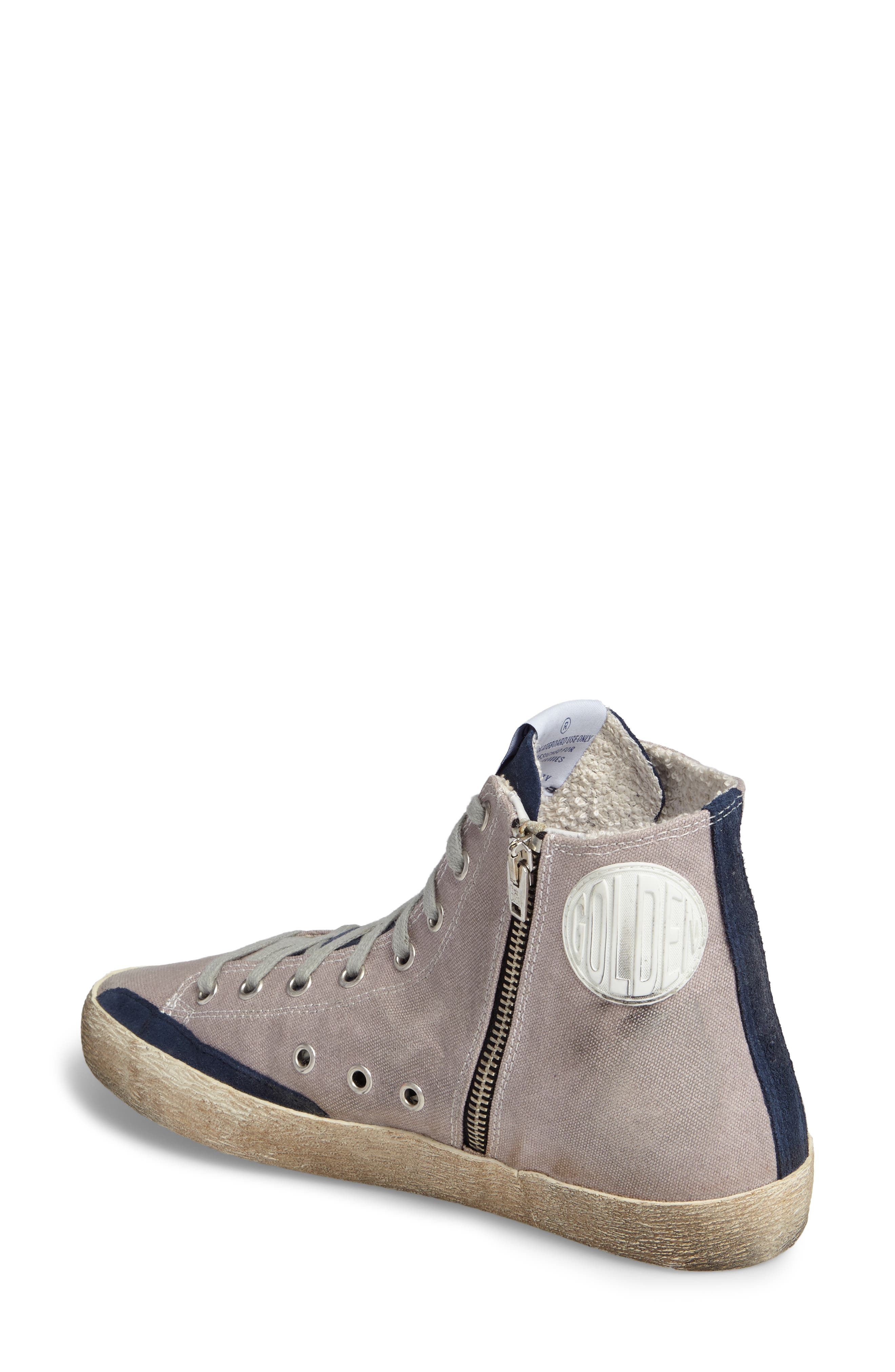 Alternate Image 2  - Golden Goose Francy Mid Top Sneaker (Women)