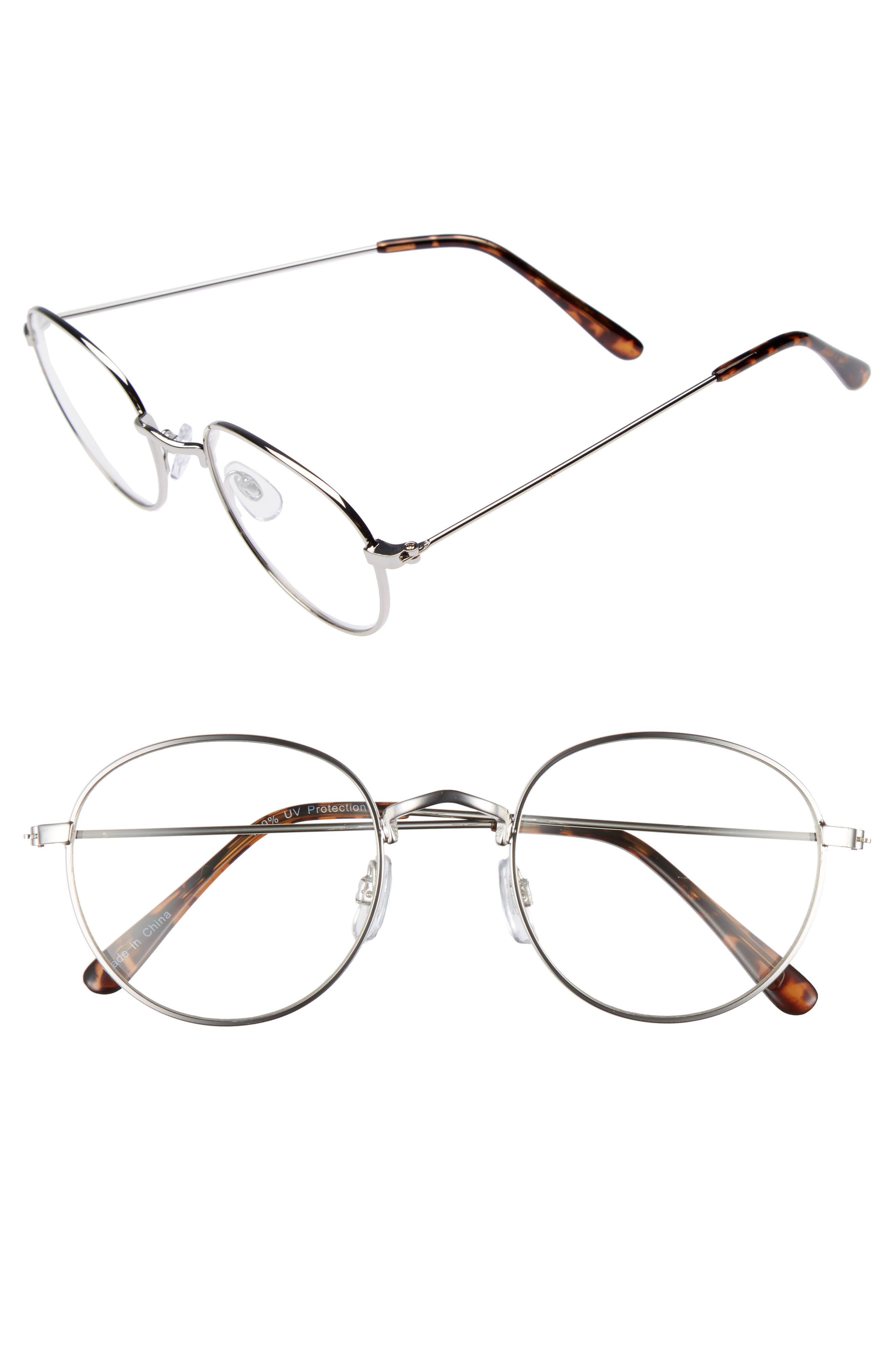 BP. 50mm Round Fashion Glasses