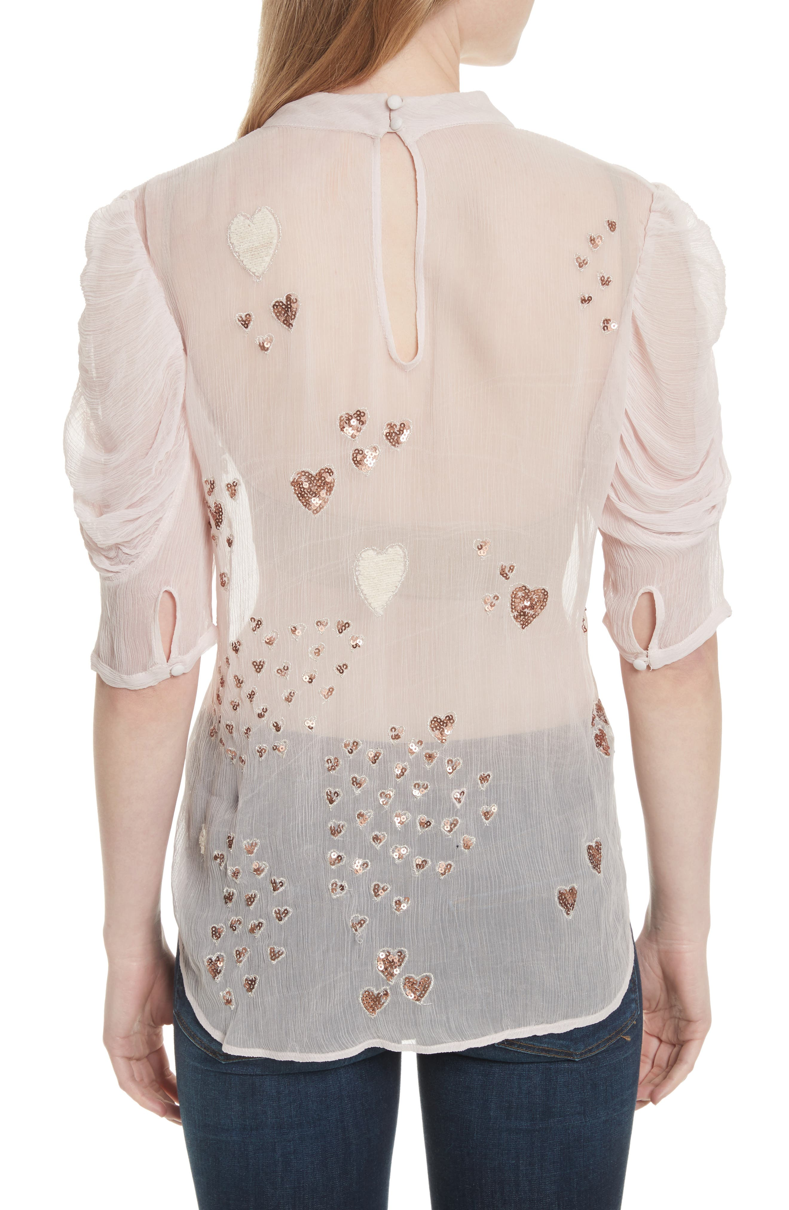 Alternate Image 2  - Free People So in Love Embroidered Blouse
