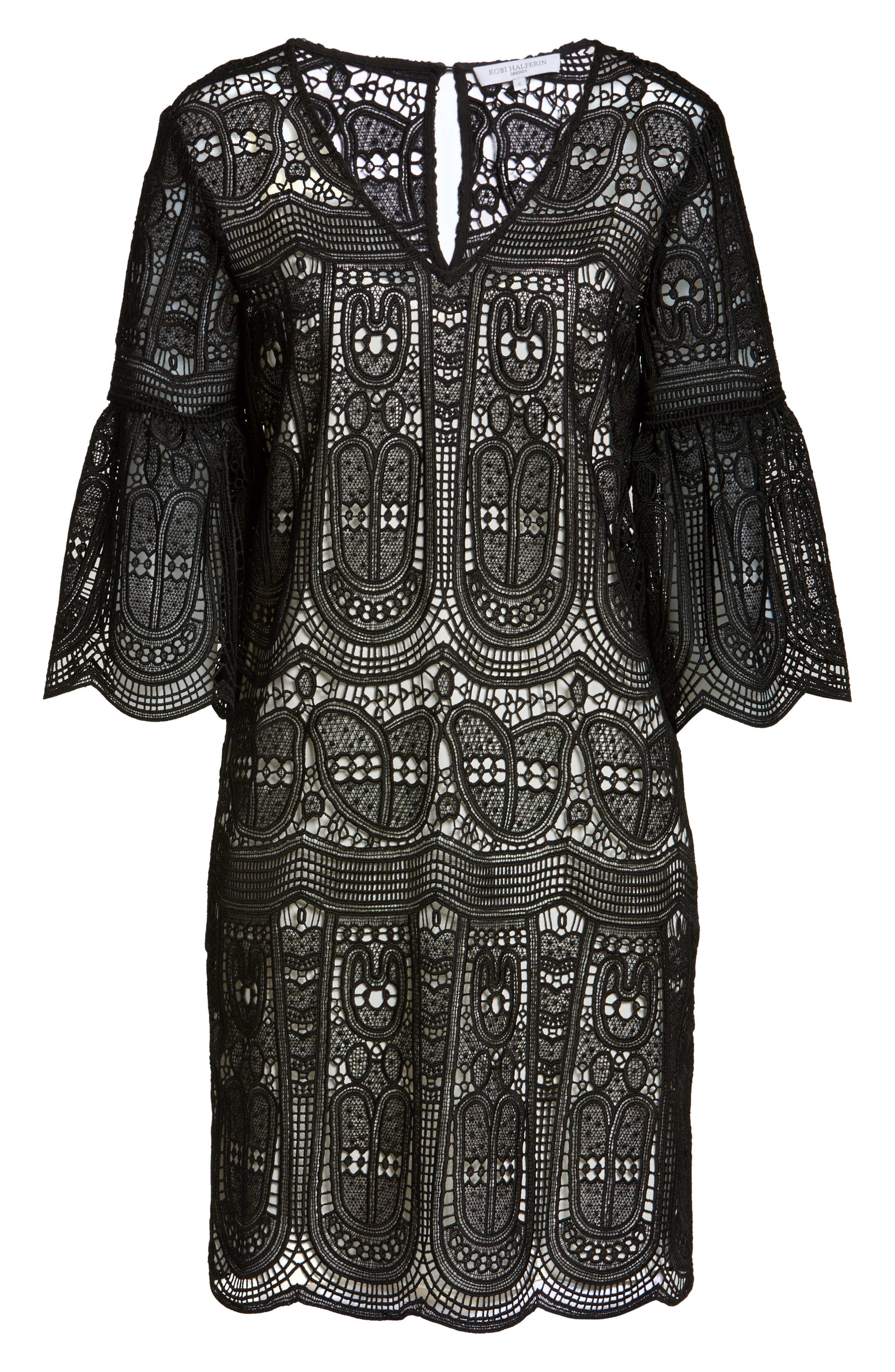 Alternate Image 6  - Kobi Halperin Gaia Lace Shift Dress (Nordstrom Exclusive)