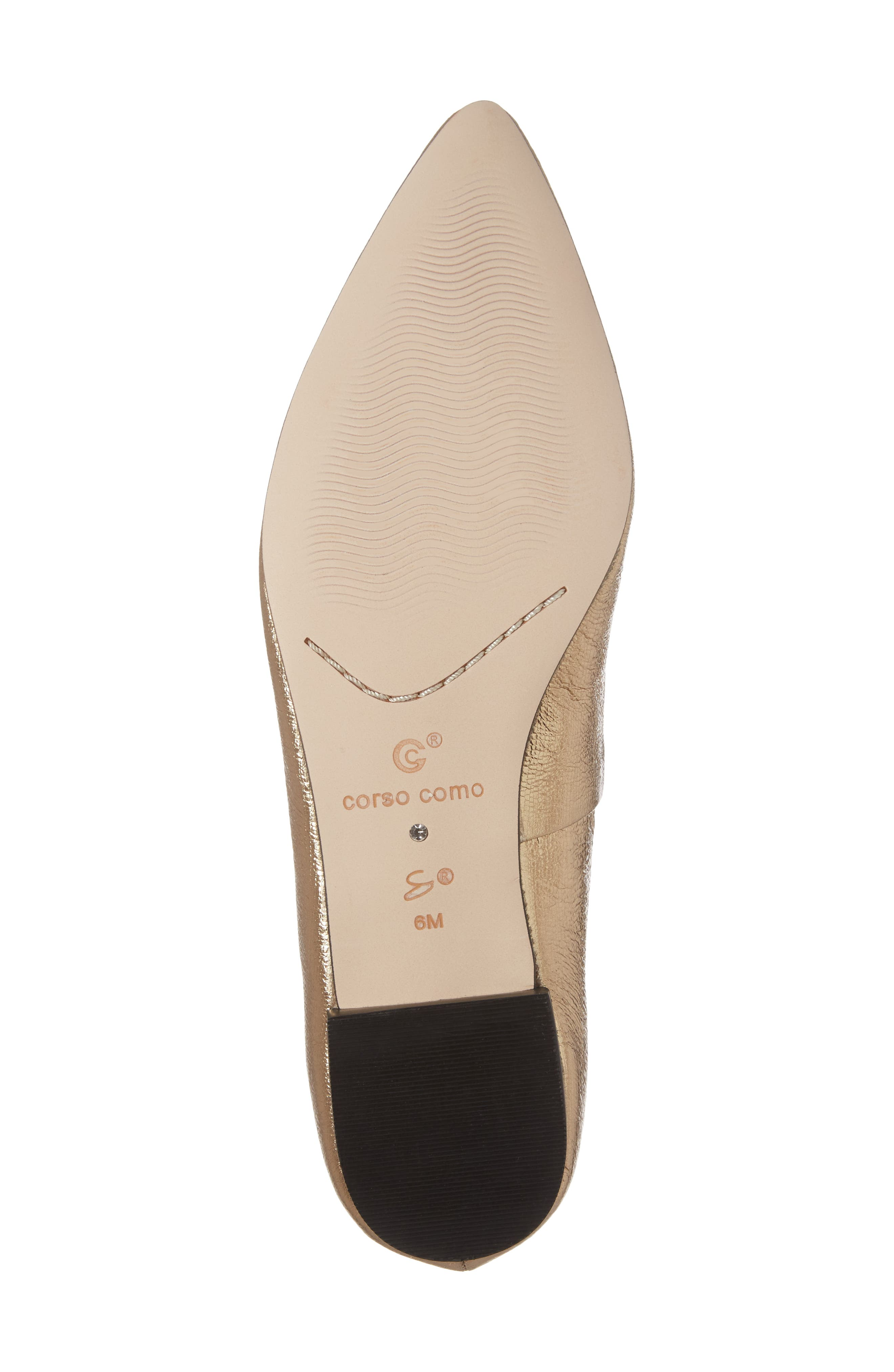 Alternate Image 6  - Corso Como Julia Pointy Toe Flat (Women)