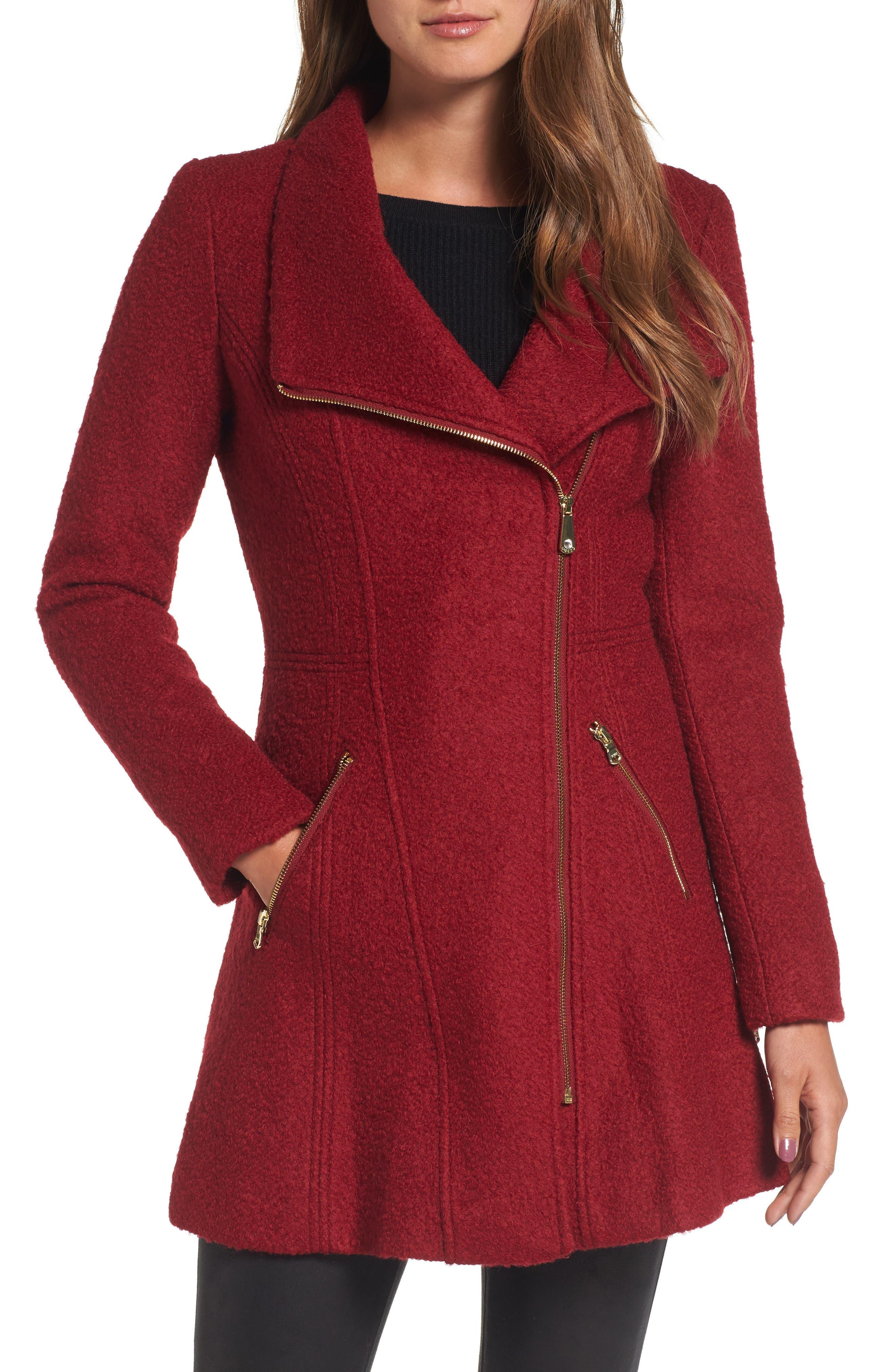 Alternate Image 1 Selected - Guess Asymmetrical Coat